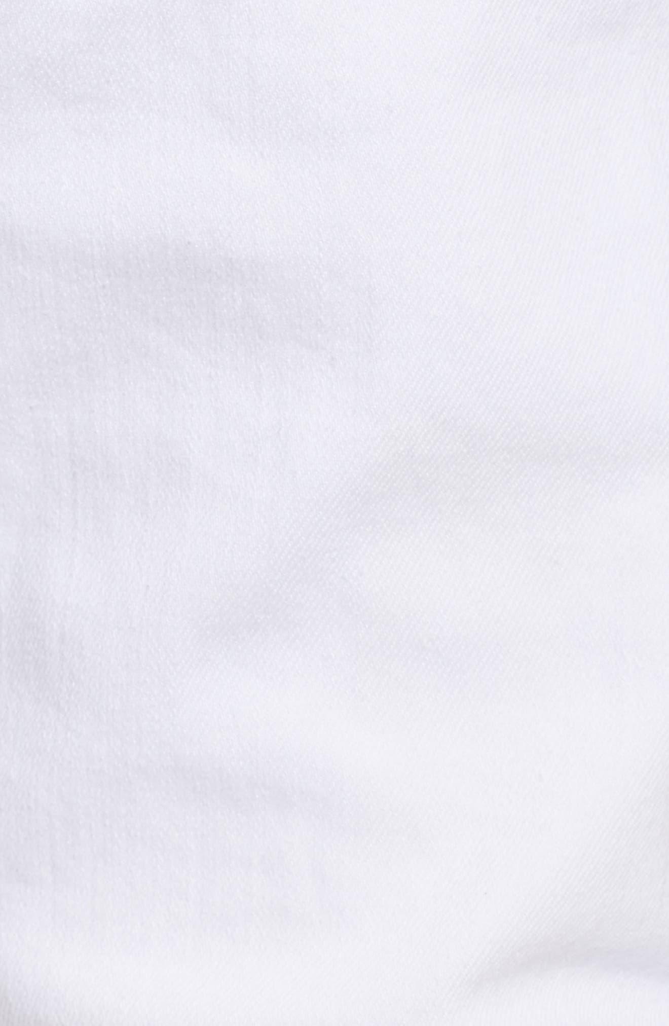 Windsor Slim Fit Jeans,                             Alternate thumbnail 5, color,                             Living White