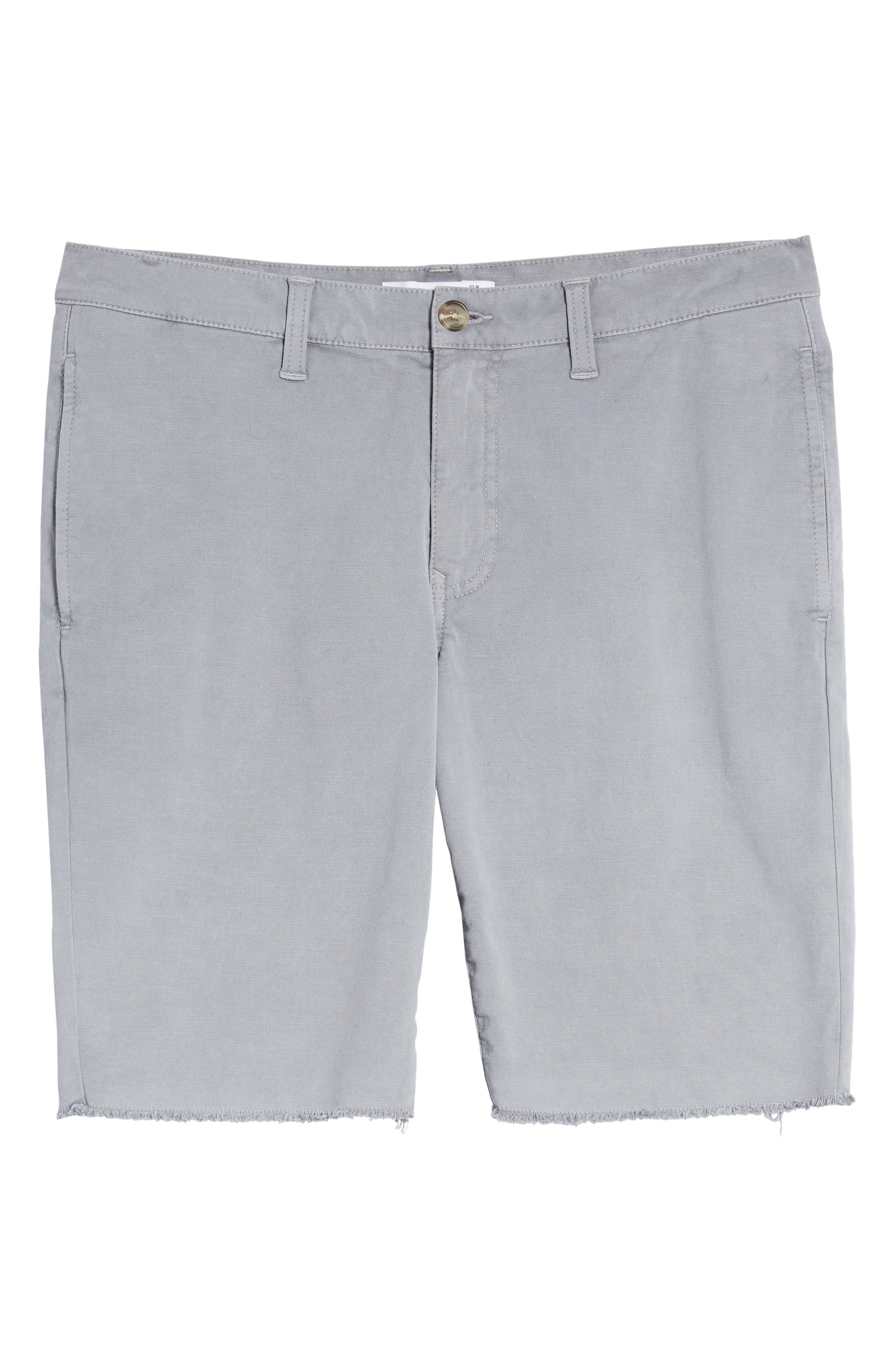 Frost Wash Shorts,                             Alternate thumbnail 6, color,                             Grey Sleet