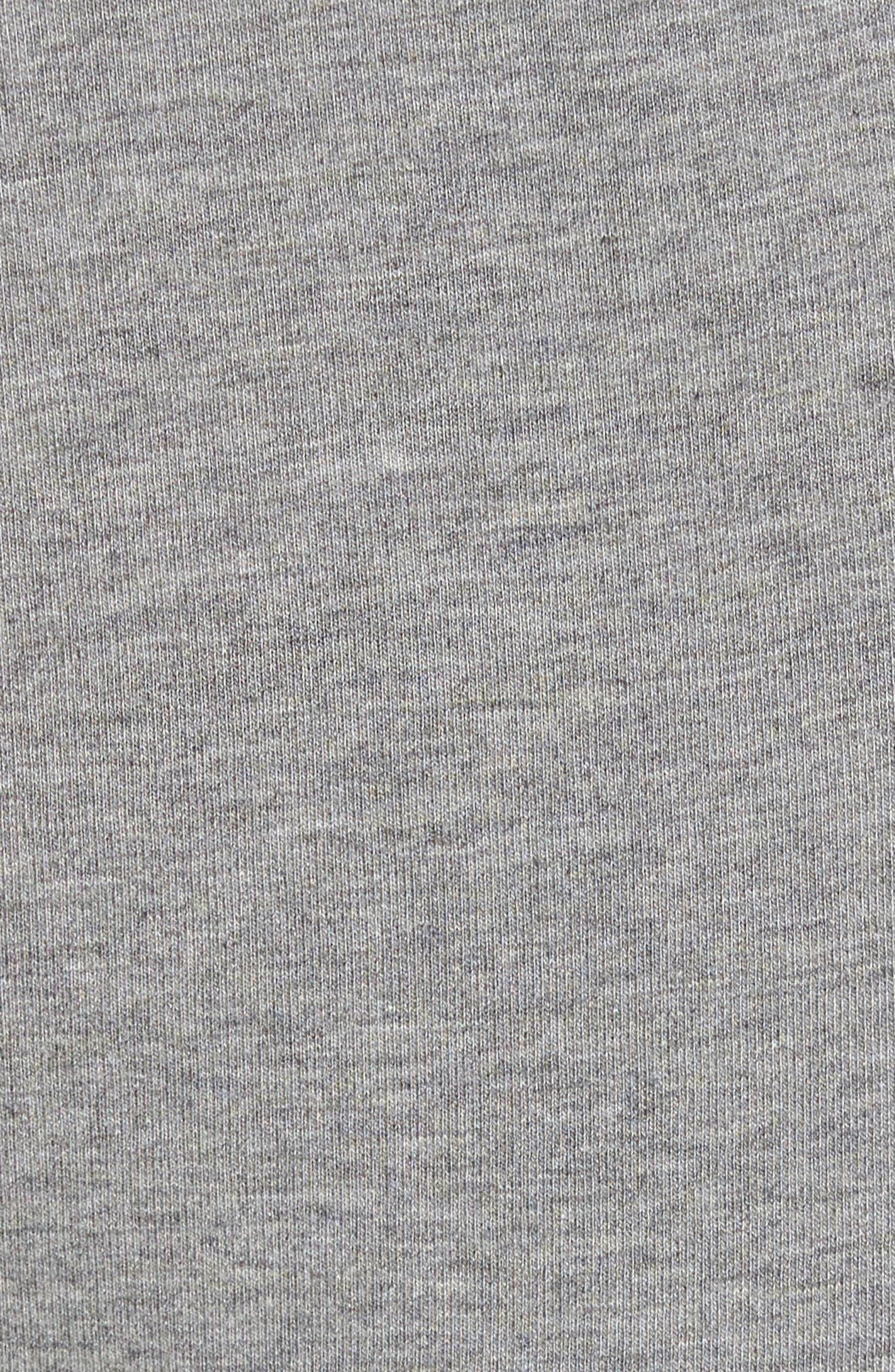 Legacy Lounge Pants,                             Alternate thumbnail 5, color,                             Heather Grey