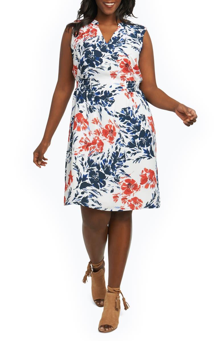 Jane Floral Sheath Dress