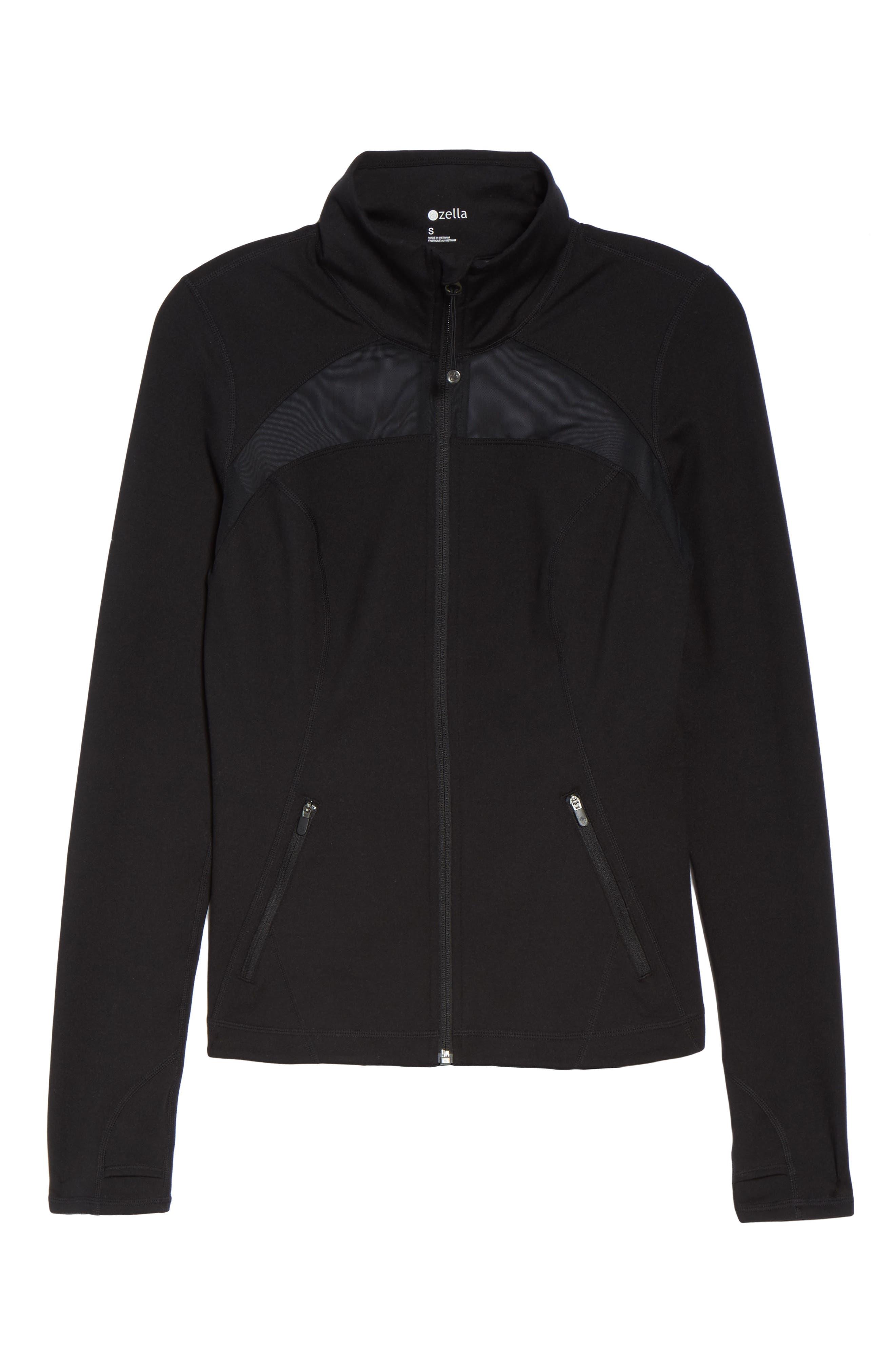 Revolve Jacket,                             Alternate thumbnail 7, color,                             Black