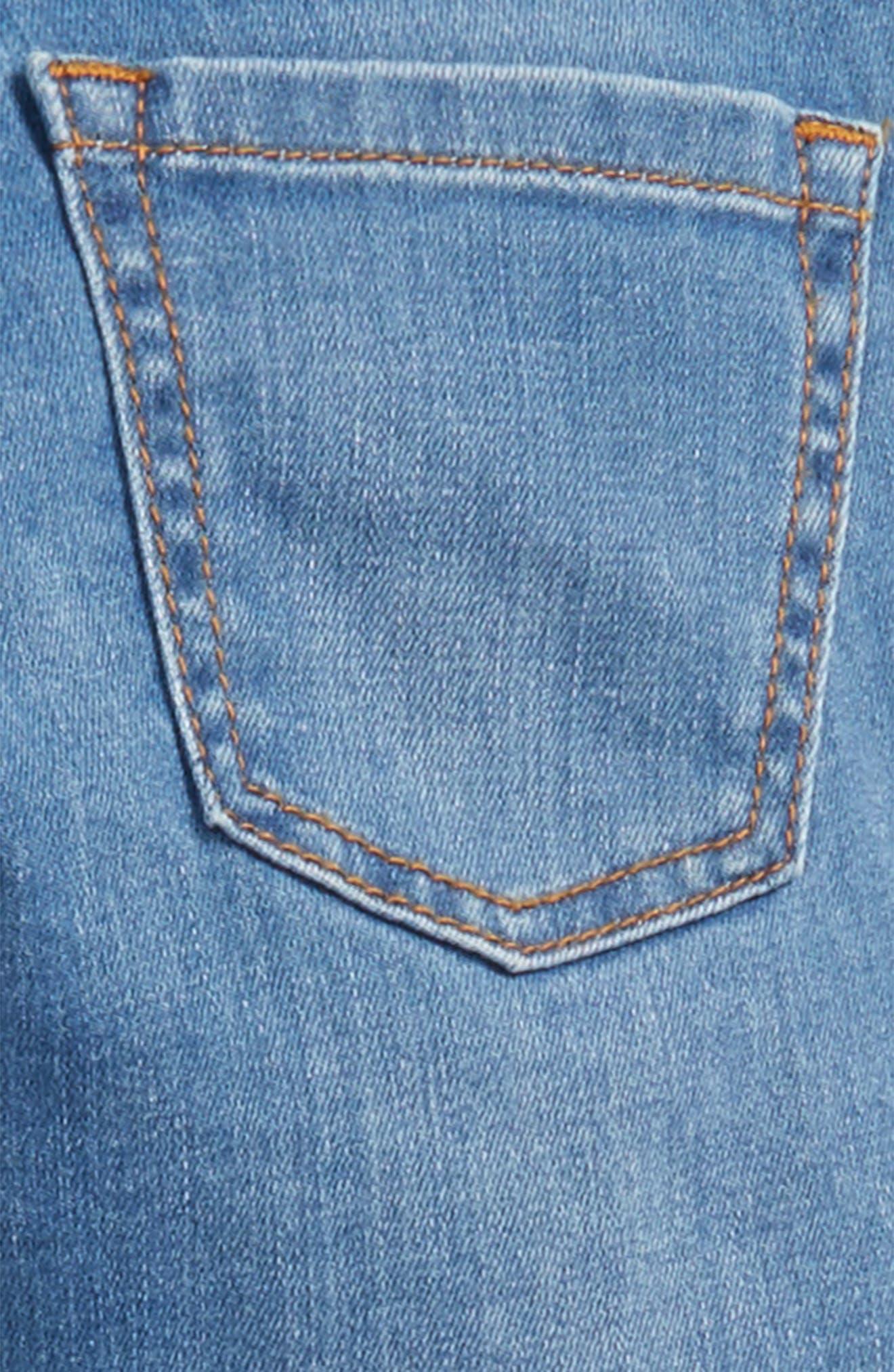 Skinny Jeans,                             Alternate thumbnail 3, color,                             Light Vintage Ldn