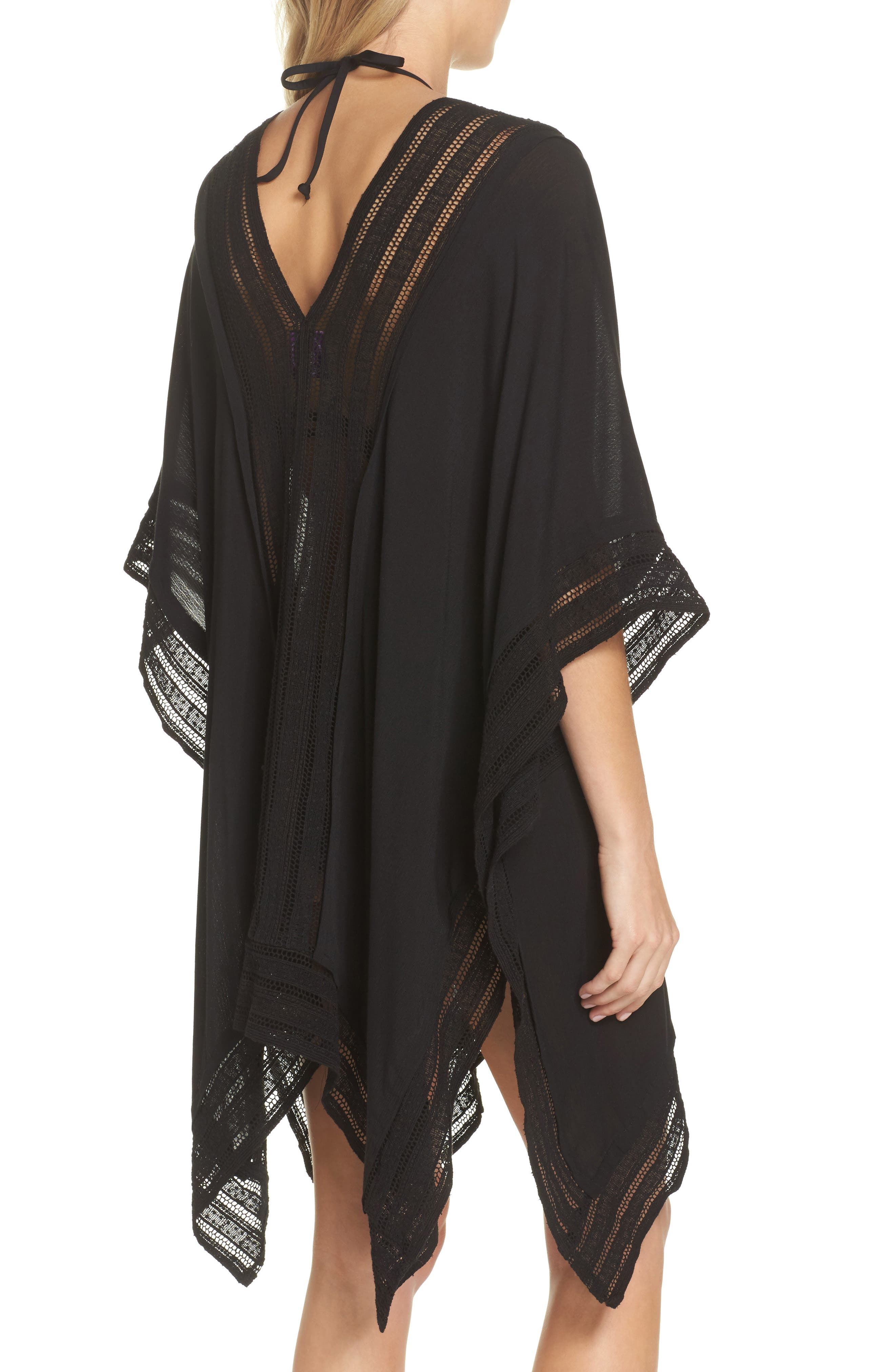 Serendipity Cover-Up Tunic,                             Alternate thumbnail 2, color,                             Black