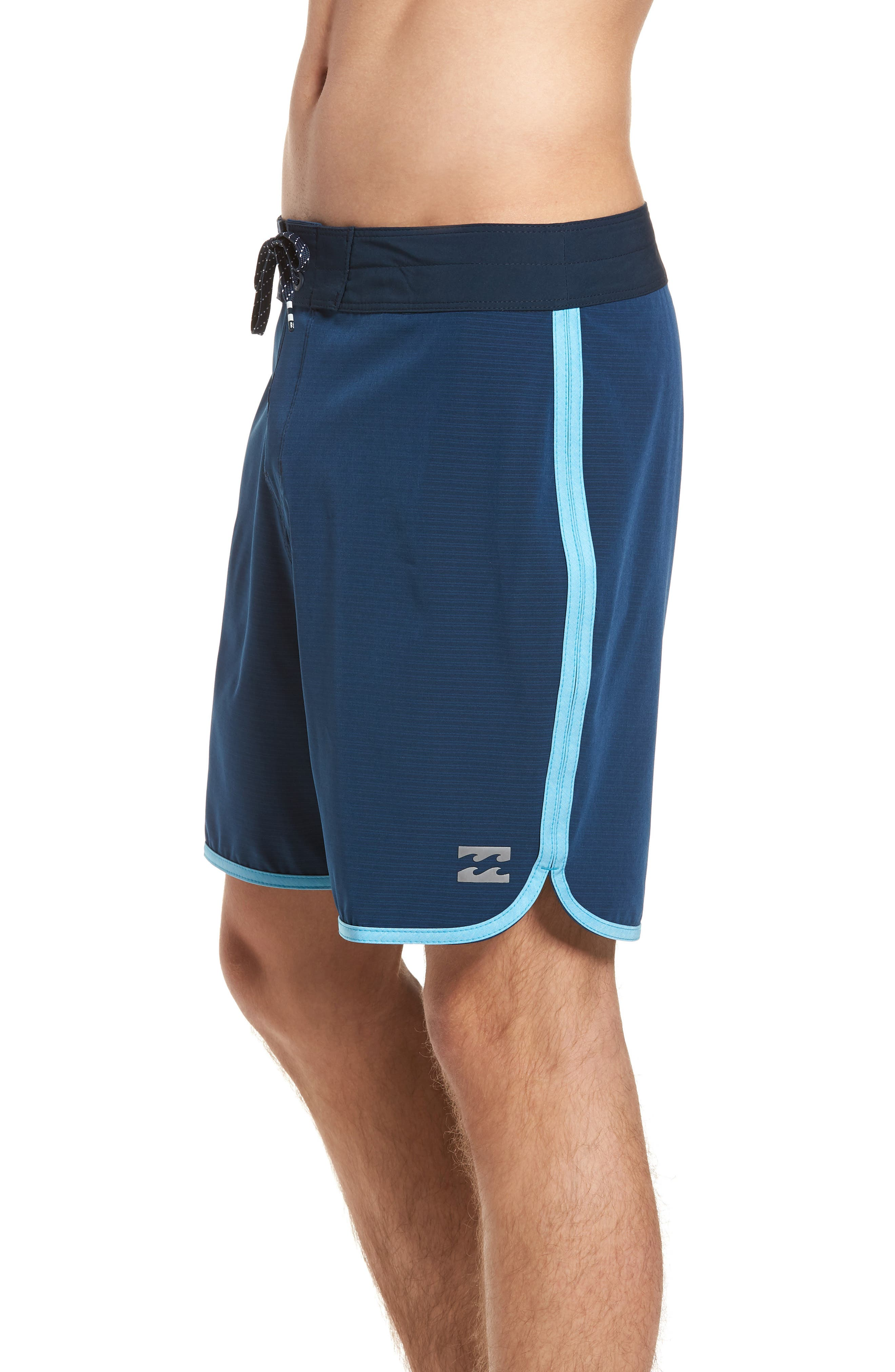 73 X Short Board Shorts,                             Alternate thumbnail 3, color,                             Navy