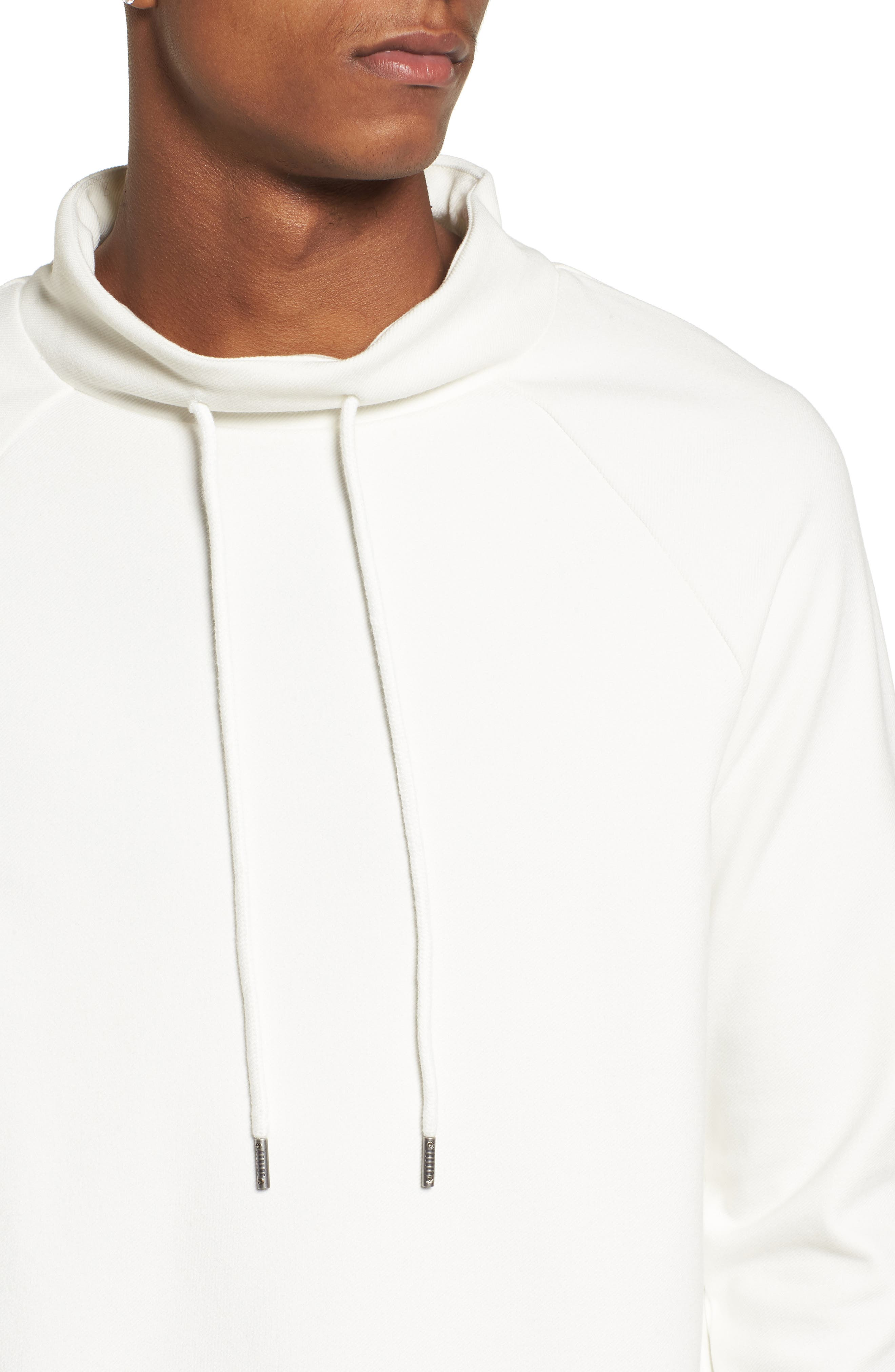 Storm Sweat Hoodie,                             Alternate thumbnail 4, color,                             White