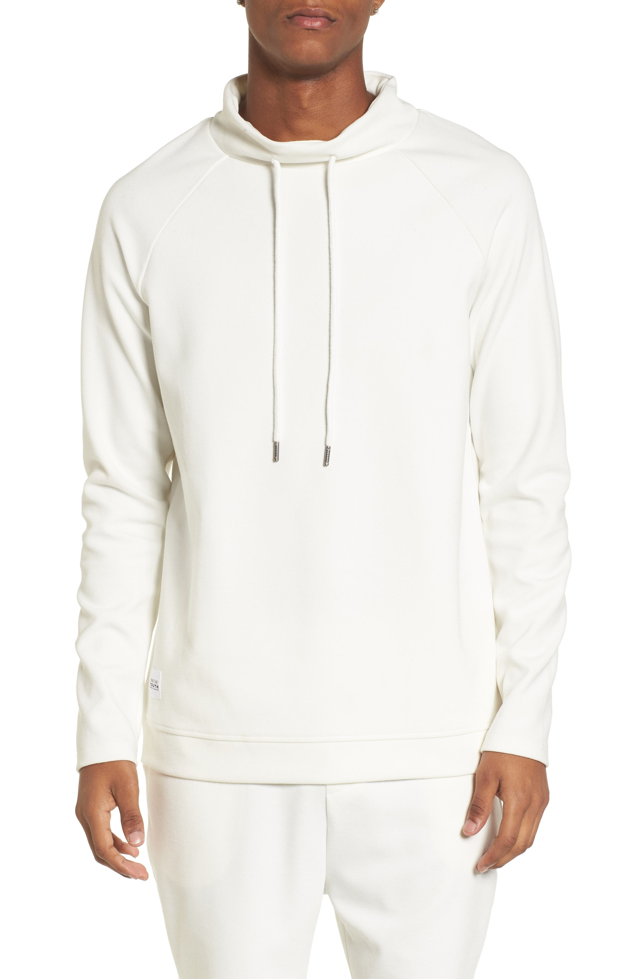Storm Sweat Hoodie,                             Main thumbnail 1, color,                             White