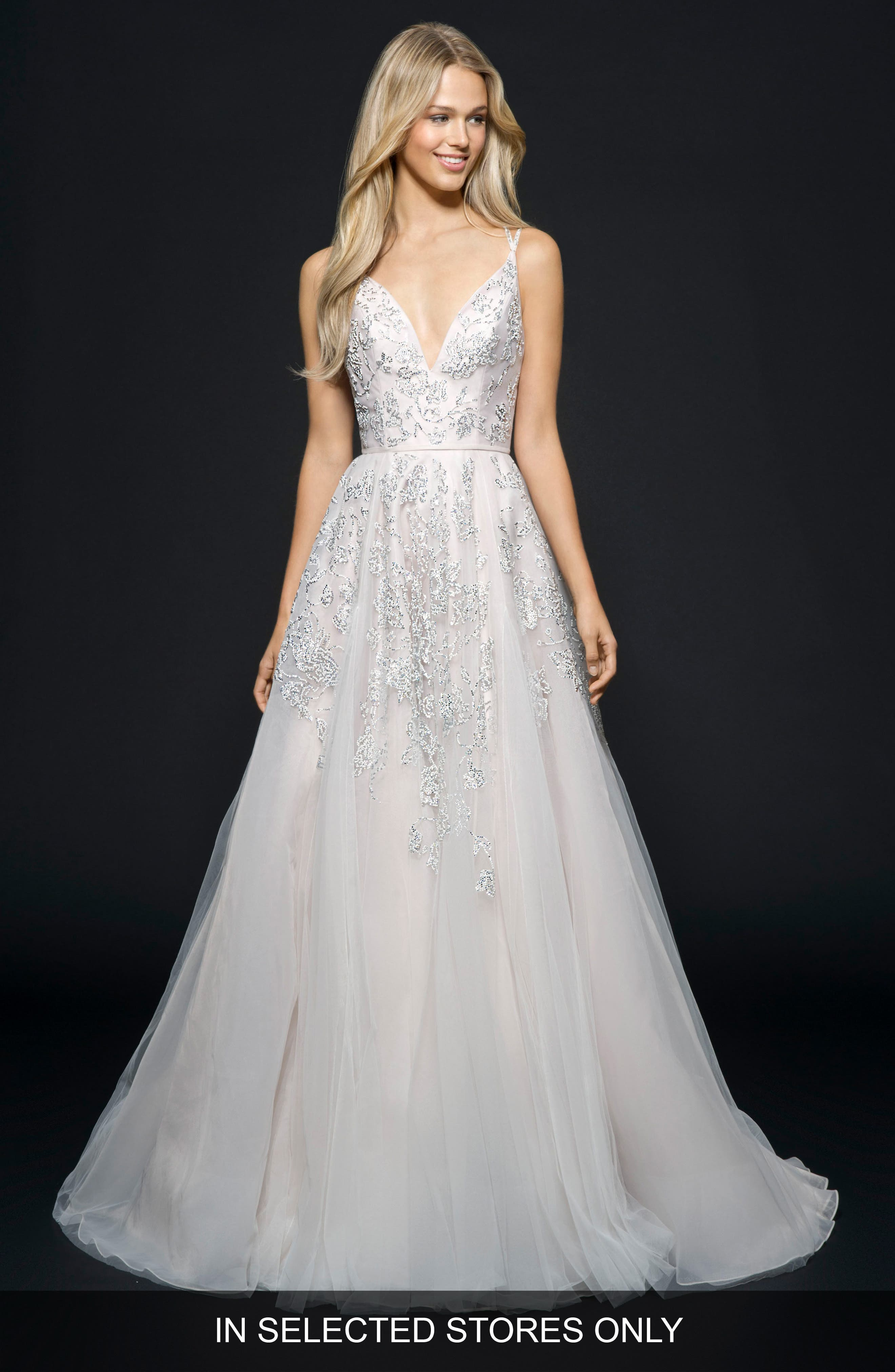 Marni Tulle Ballgown,                             Main thumbnail 1, color,                             Alabaster