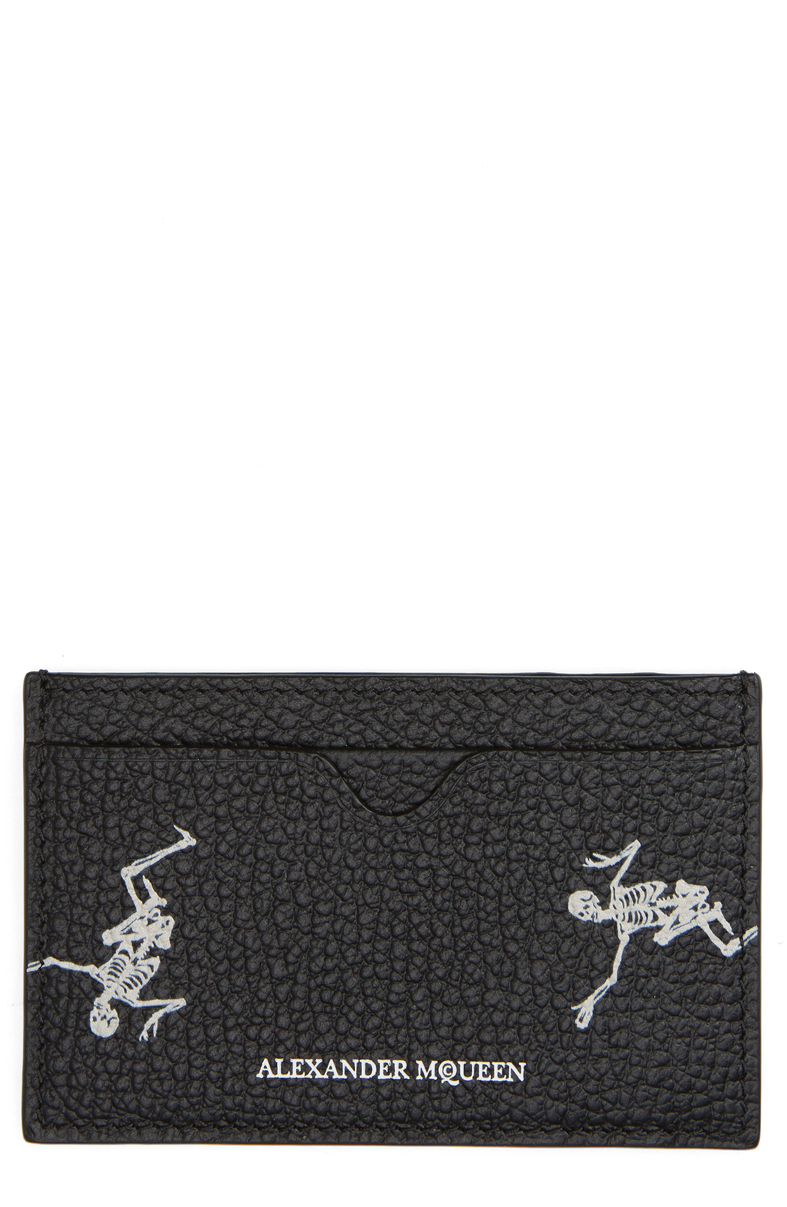 Alexander McQueen Dancing Skeleton Card Case