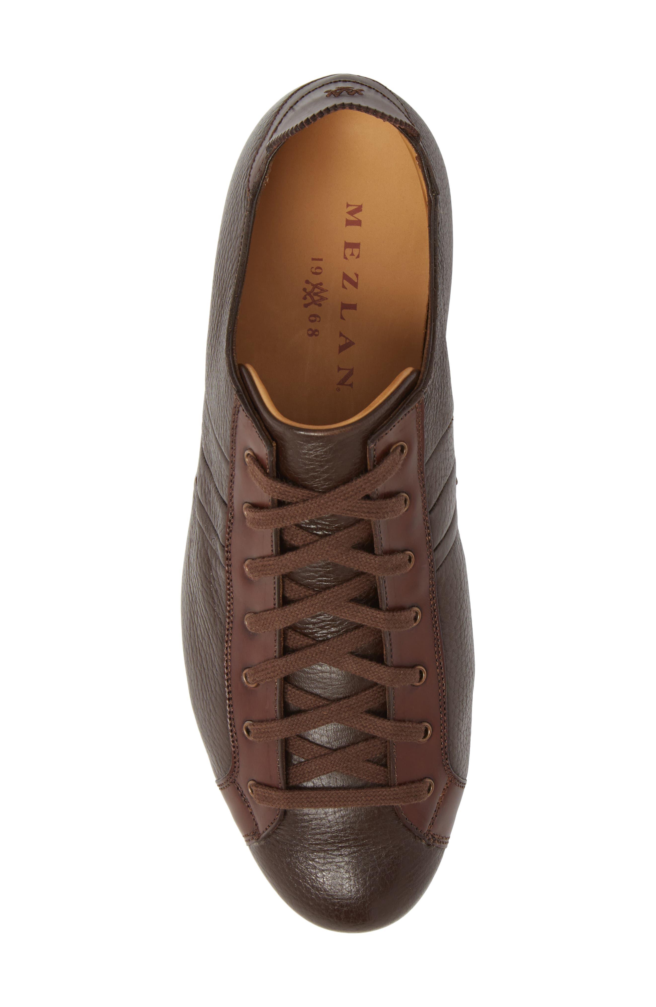 Tiberio Sneaker,                             Alternate thumbnail 5, color,                             Brown