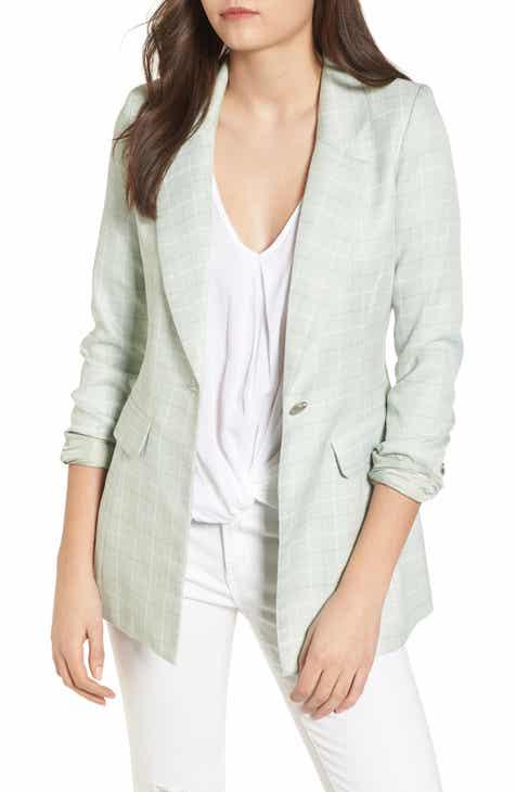 Women S Green Coats Amp Jackets Nordstrom