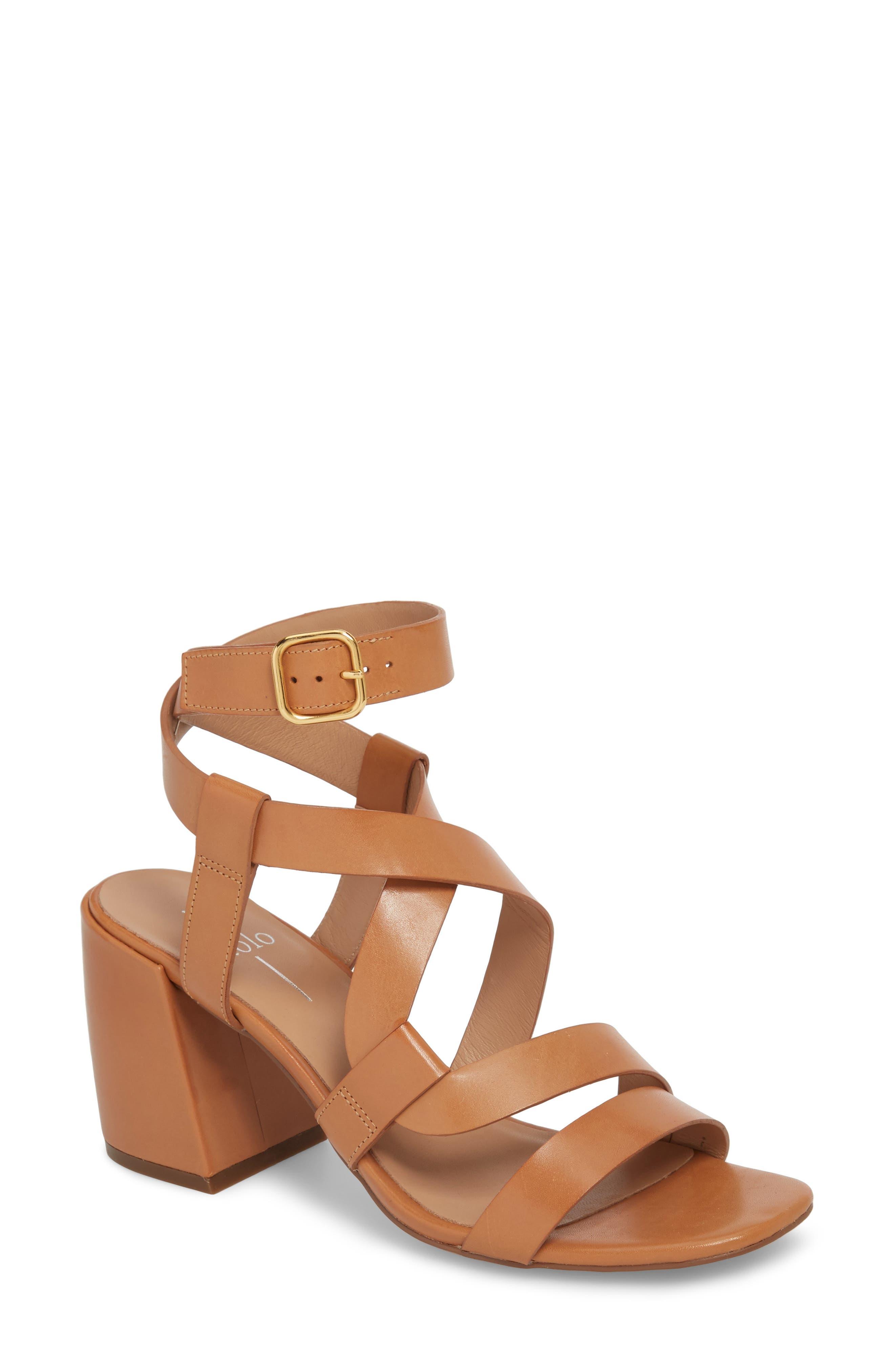Linea Paolo Iris Cross Strap Sandal (Women)