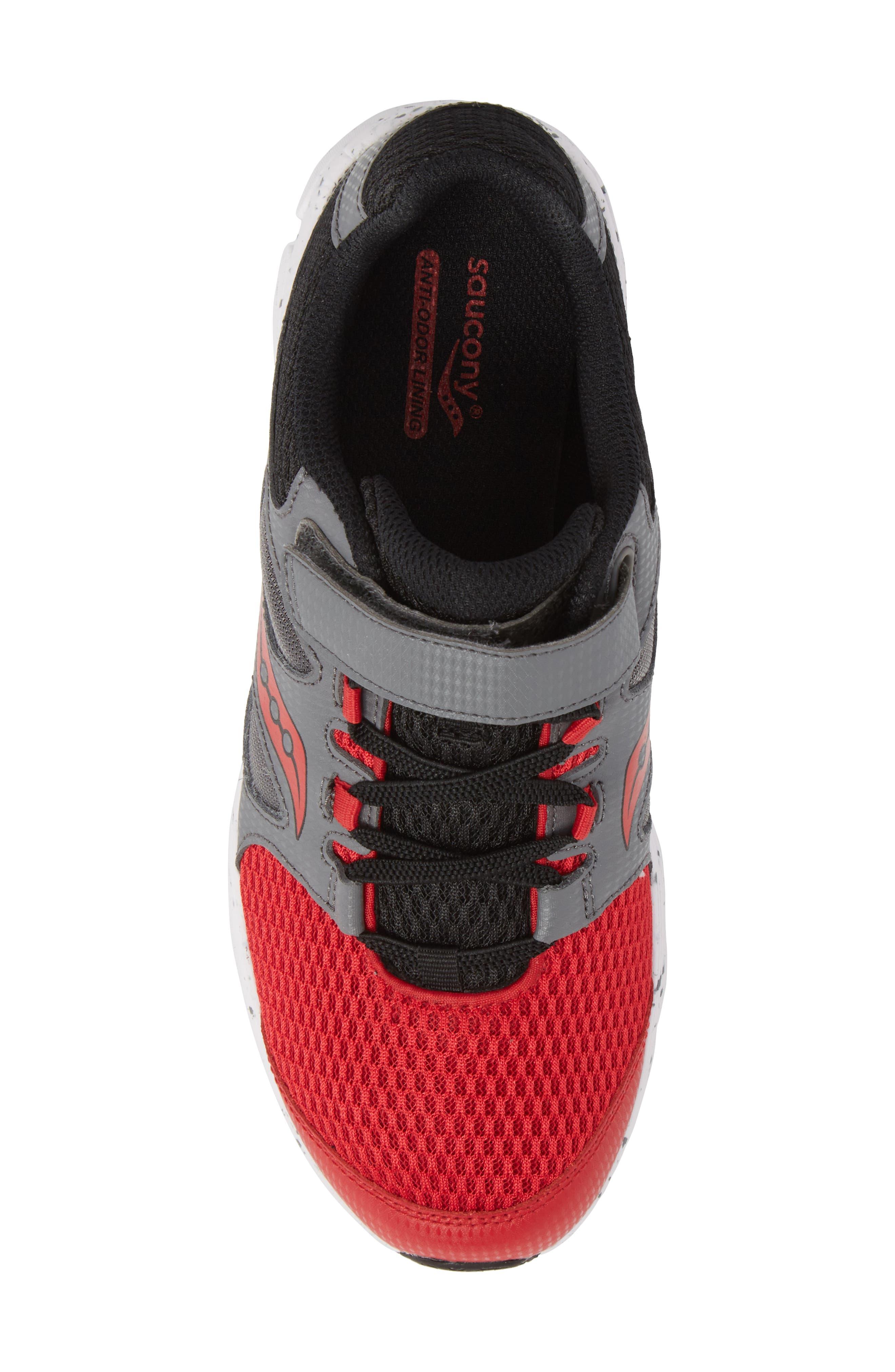 Kotaro 4 Sneaker,                             Alternate thumbnail 5, color,                             Red/ Grey