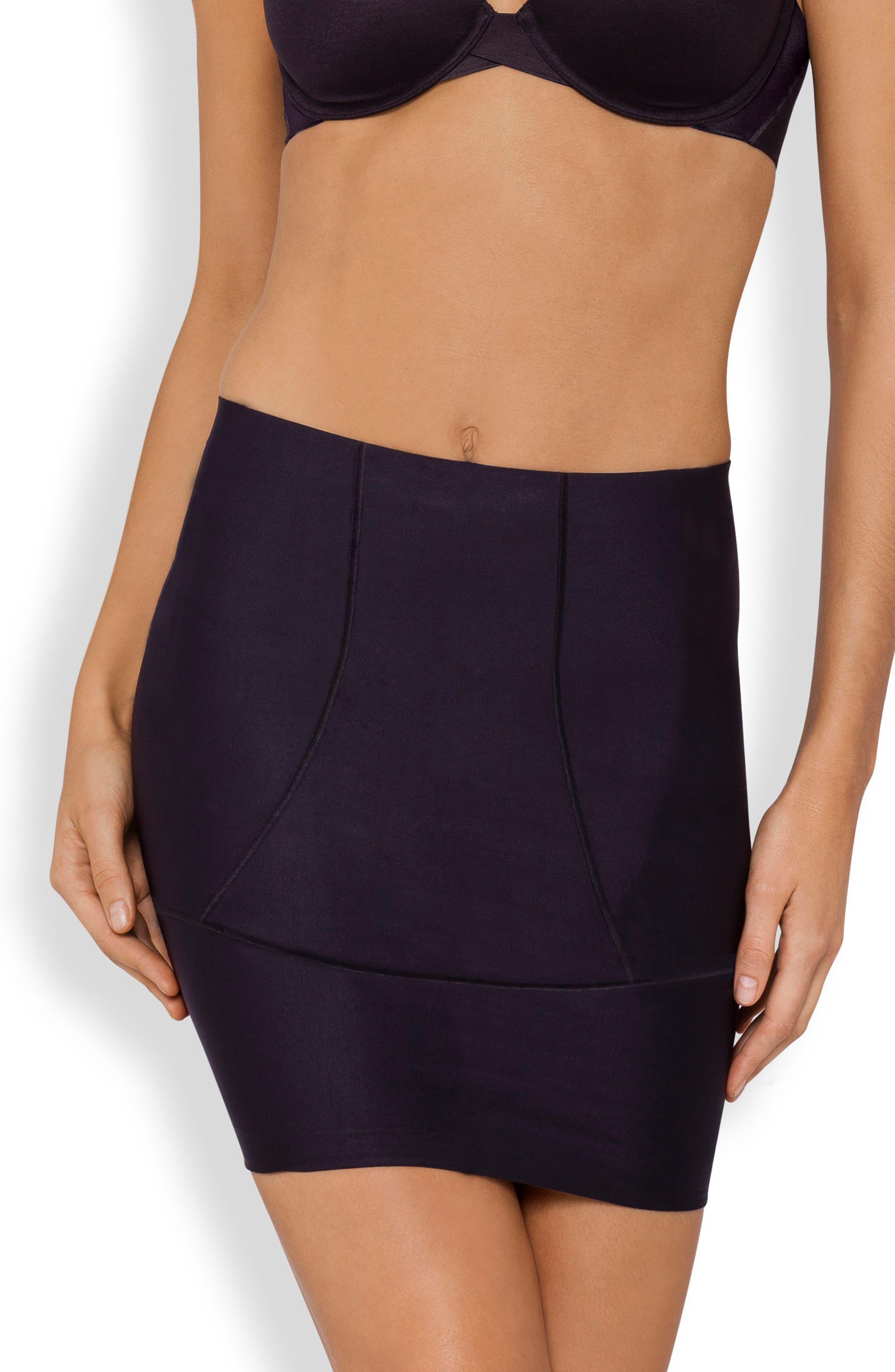 Body Architect Shaper Slip Skirt,                         Main,                         color, Black