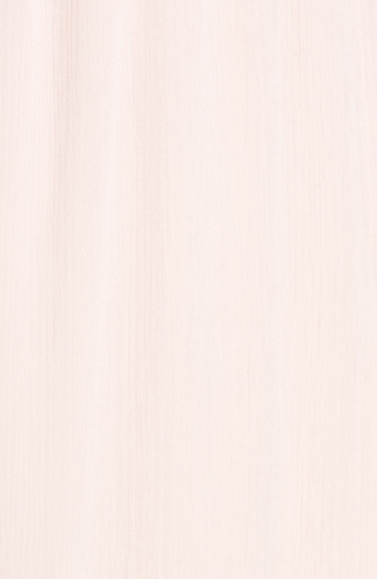Anna Tie Back Gown,                             Alternate thumbnail 5, color,                             Ballet Pink