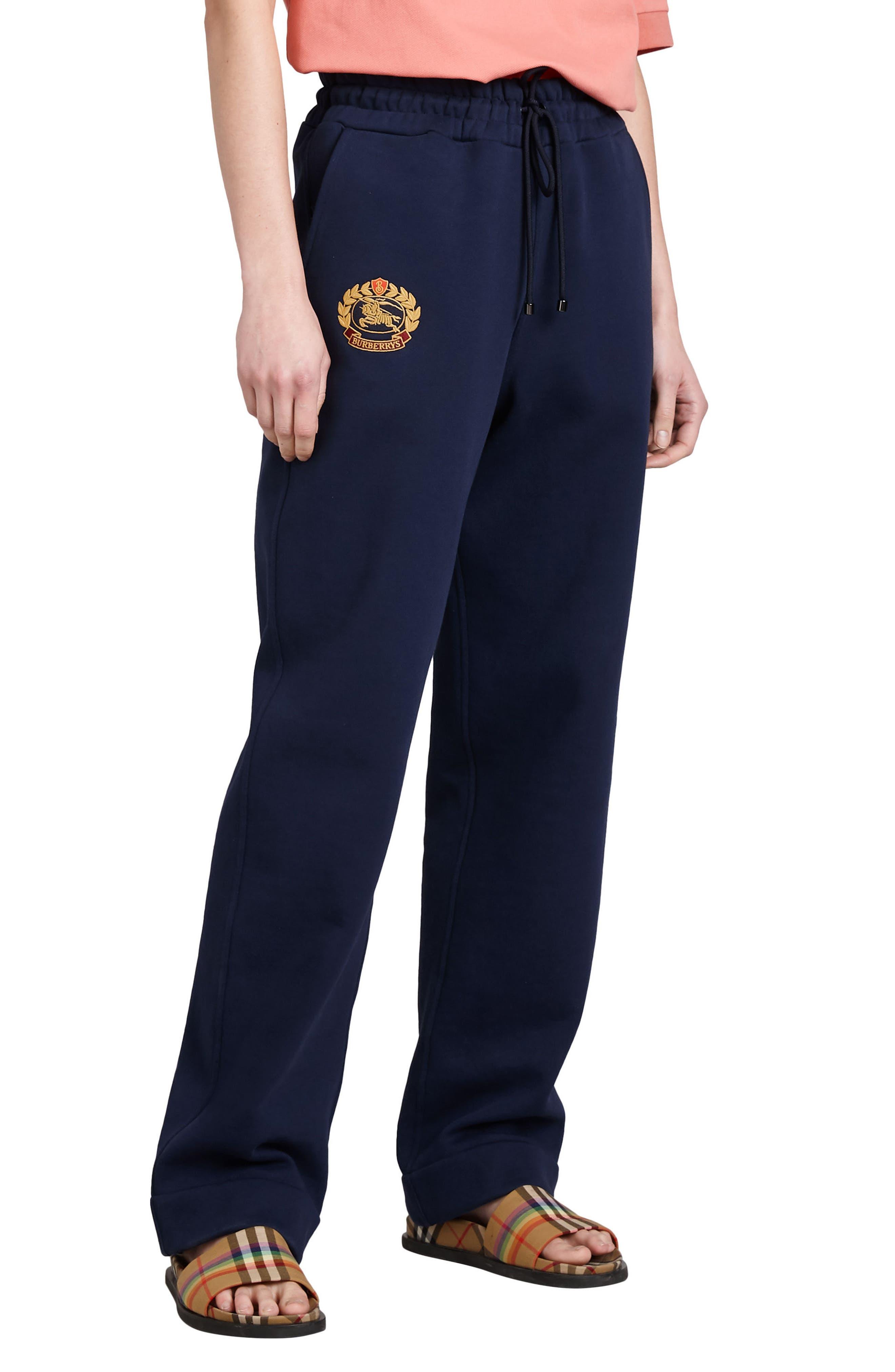 Vintage Crest Sweatpants,                         Main,                         color, Midnight Blue