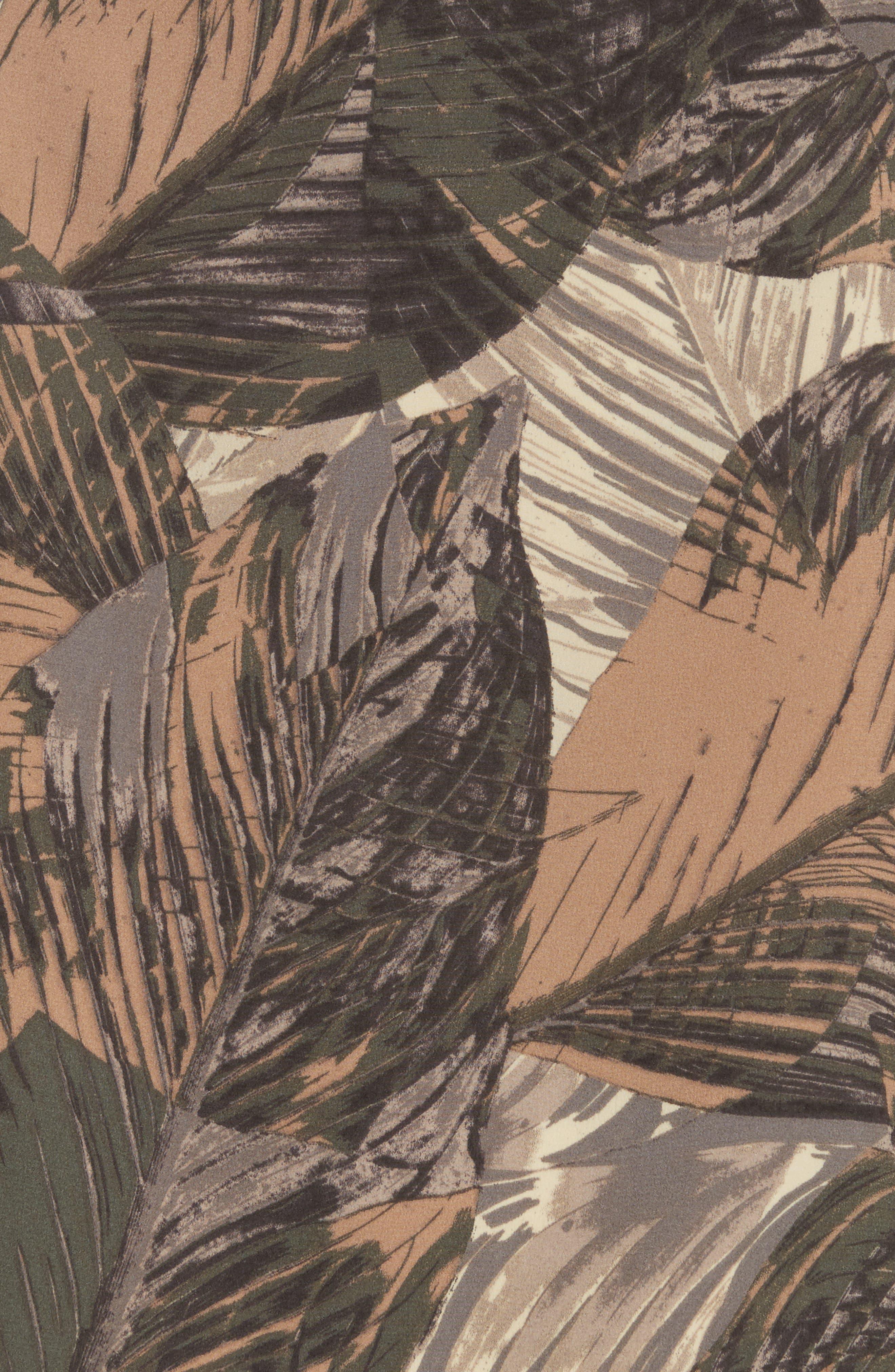 Jane Print Silk Camisole,                             Alternate thumbnail 5, color,                             Rutabaga Multi