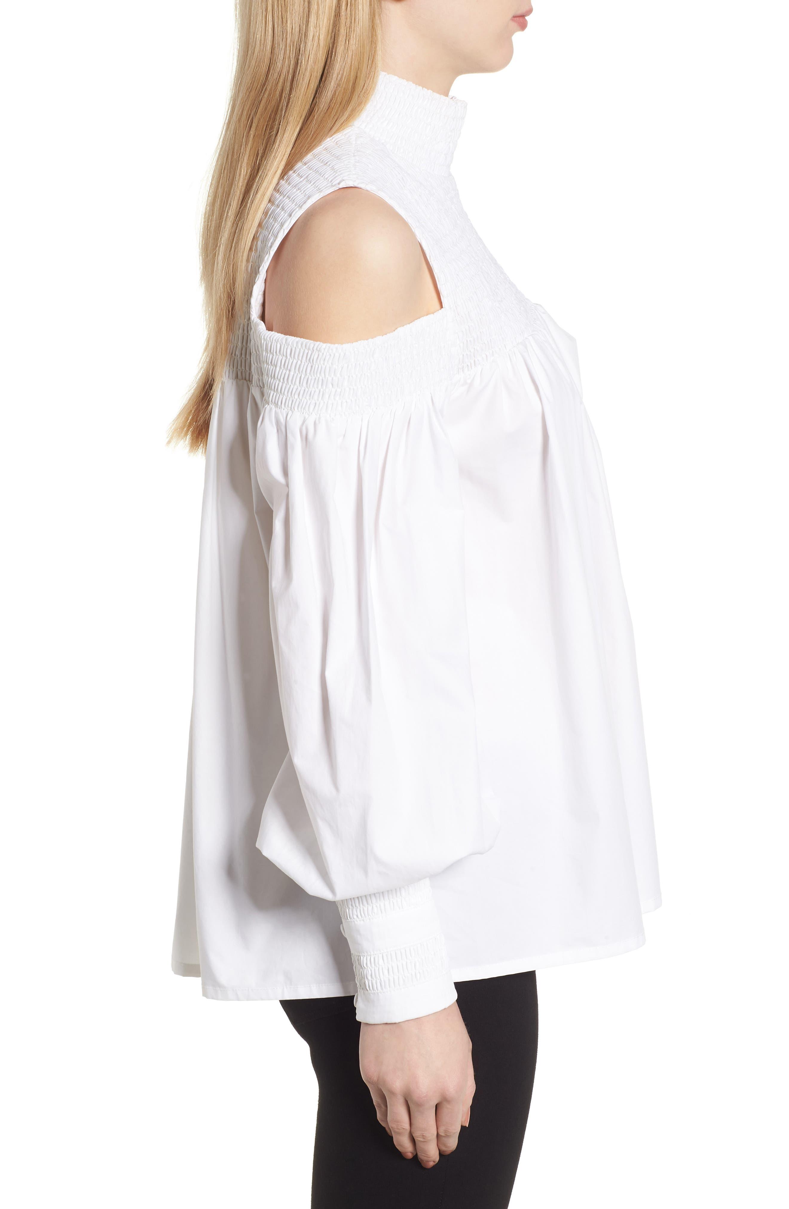 Alternate Image 3  - Elliatt Ivy Cold Shoulder Top