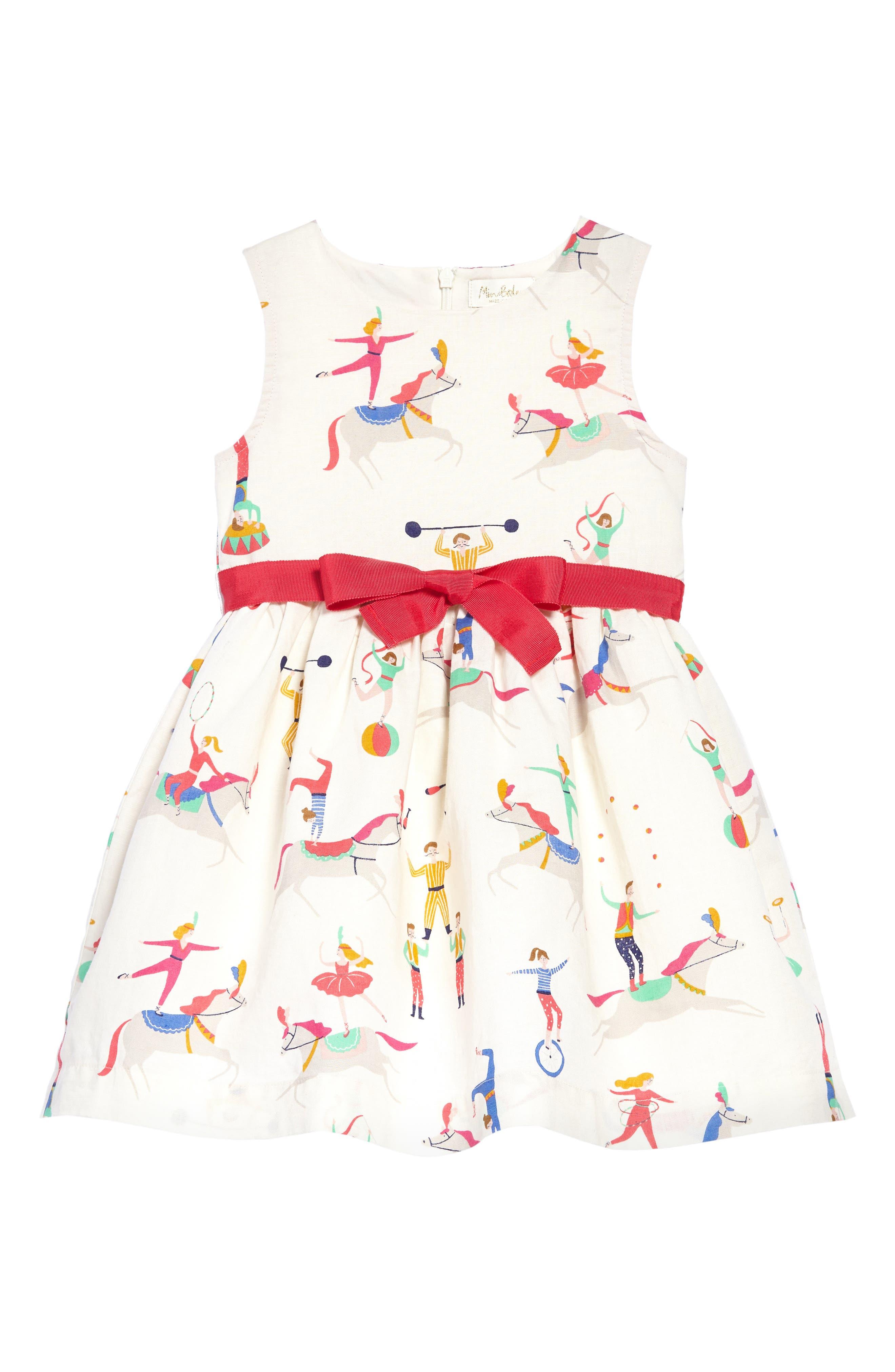 Vintage Dress,                         Main,                         color, Ecru Acrobats