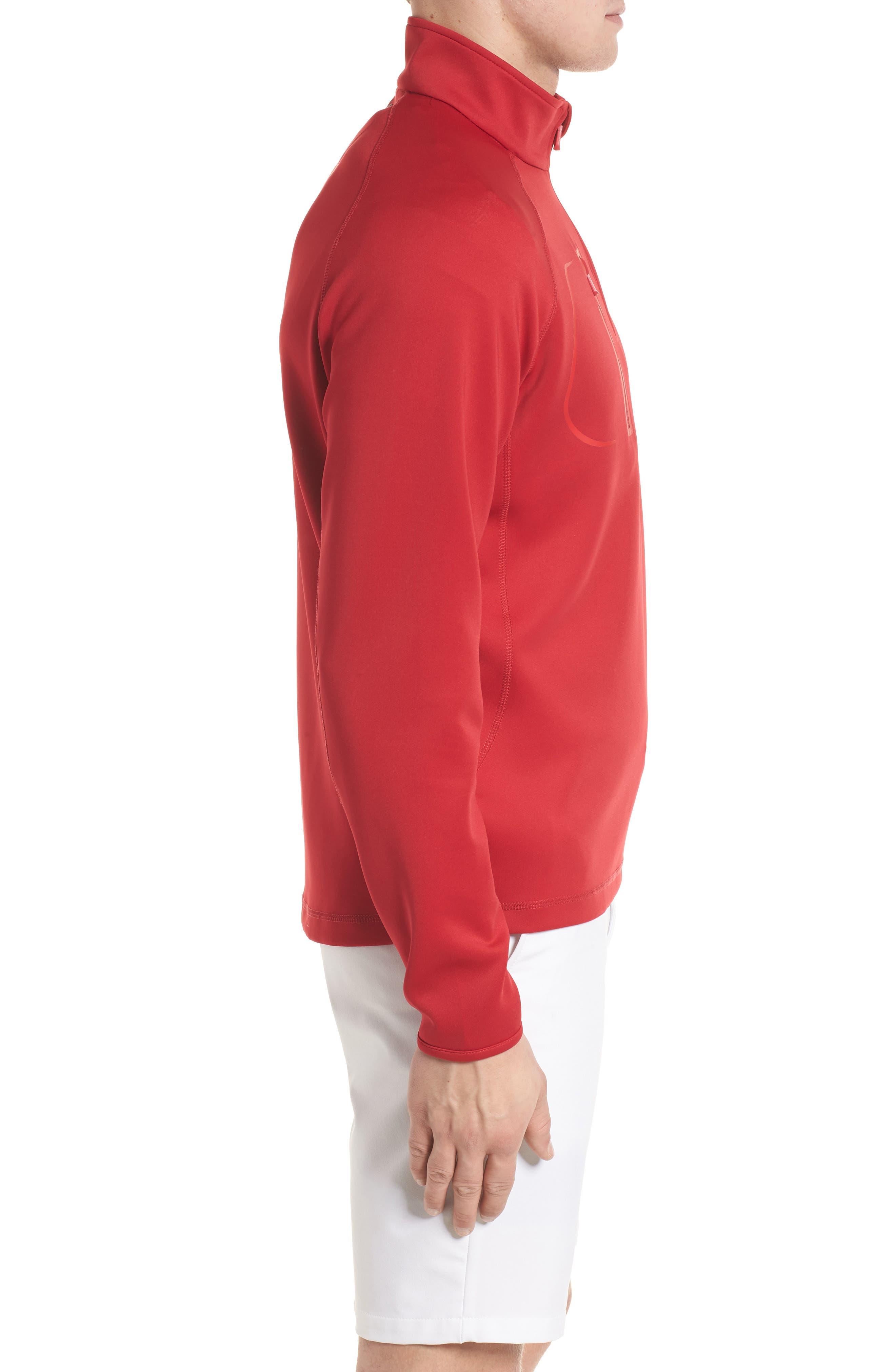 Alternate Image 3  - Bobby Jones XH2O Crawford Stretch Quarter Zip Golf Pullover