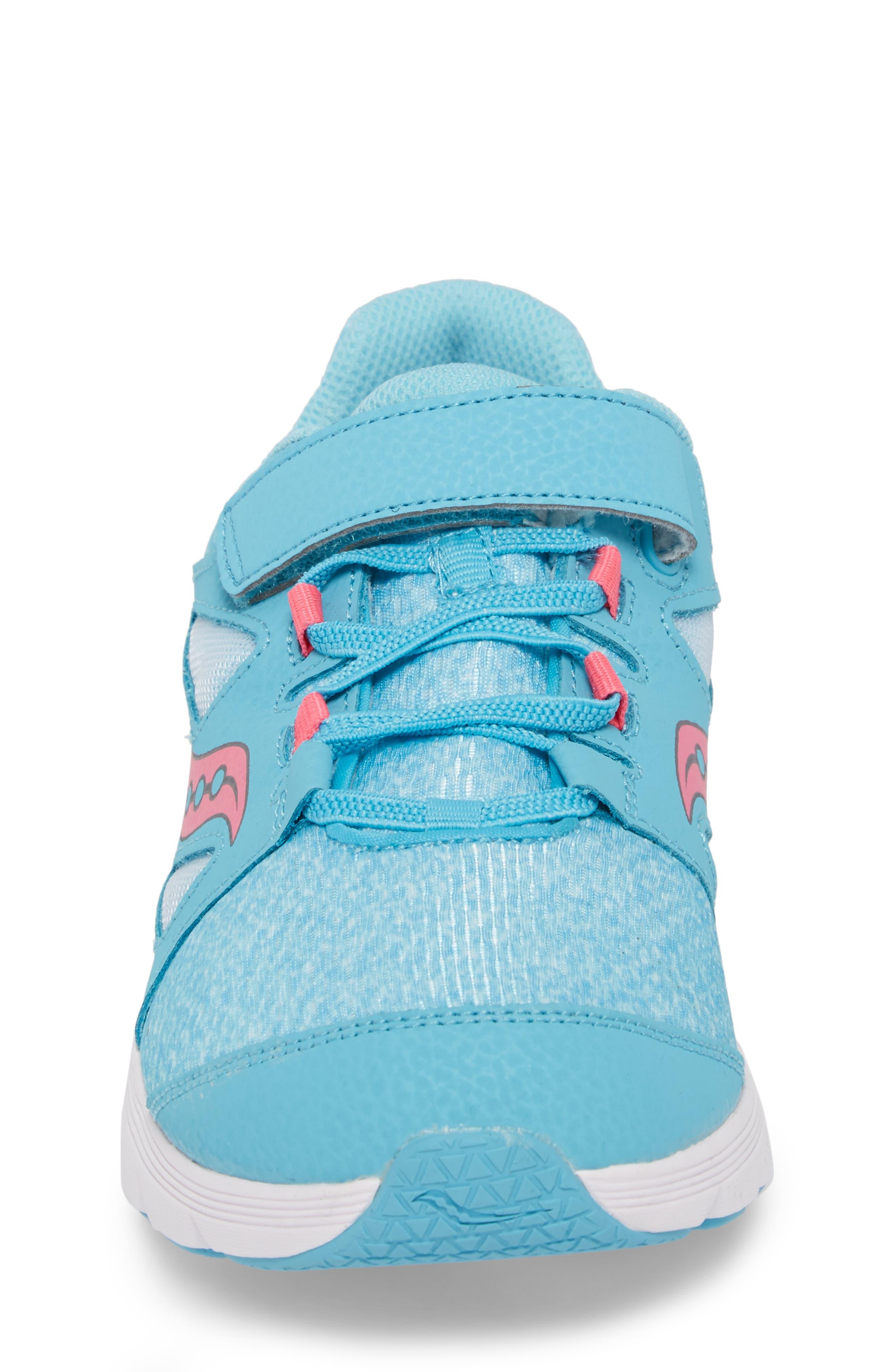 Kotaro 4 Sneaker,                             Alternate thumbnail 4, color,                             Turquoise/ Pink