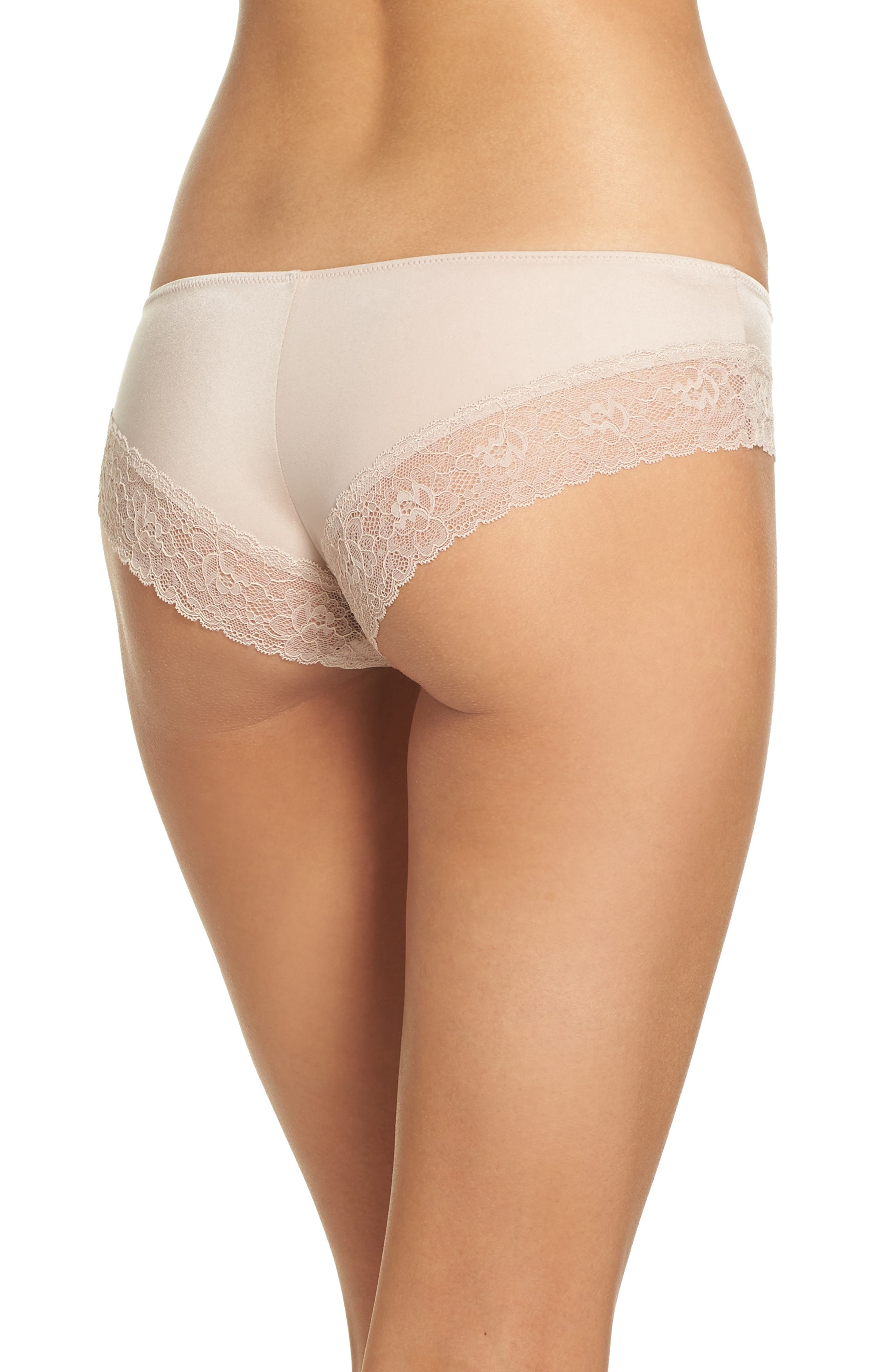 Bloom Chikini Hipster Briefs,                             Alternate thumbnail 2, color,                             Cashmere