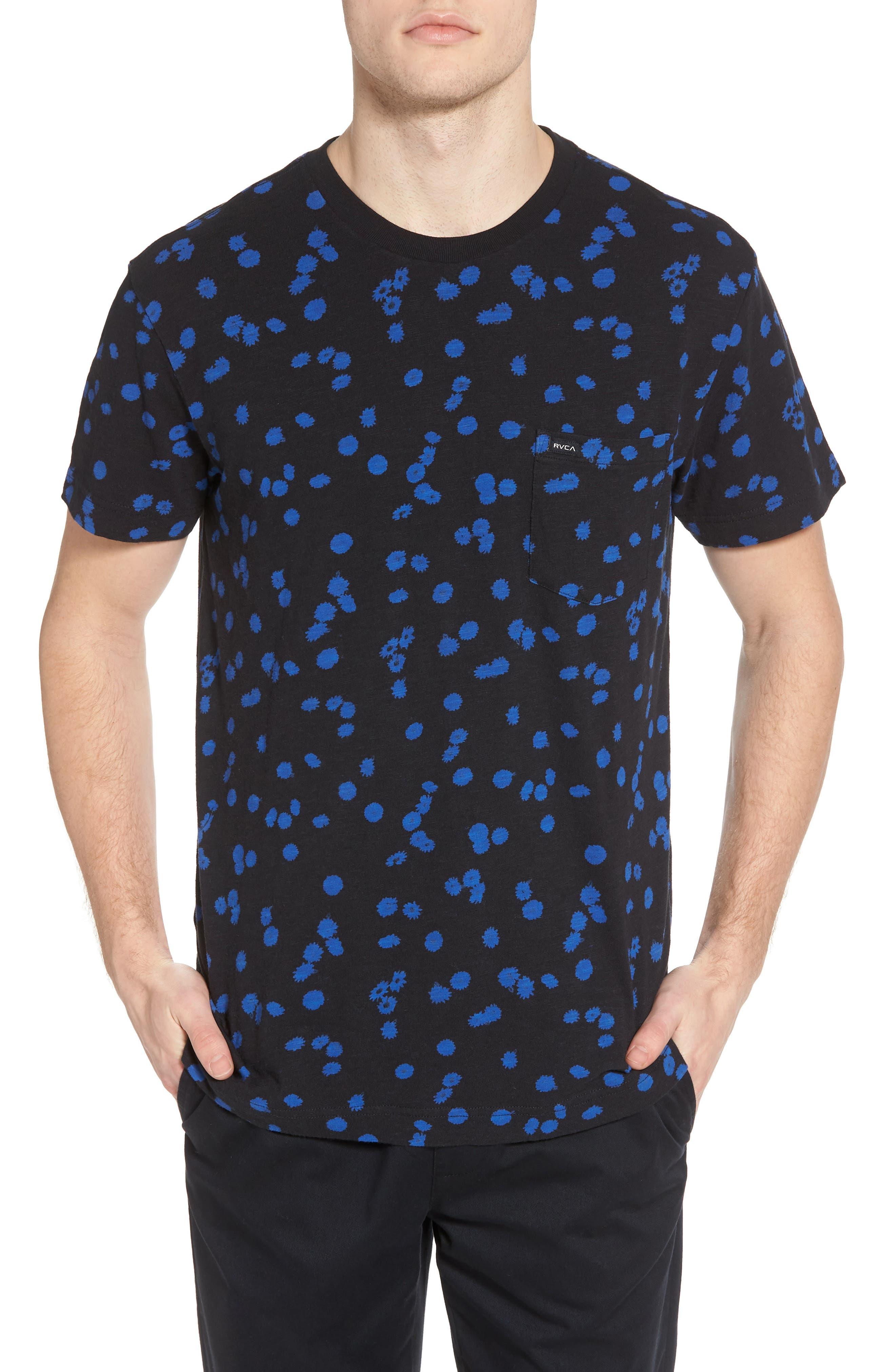 OD Floral T-Shirt,                         Main,                         color, Black