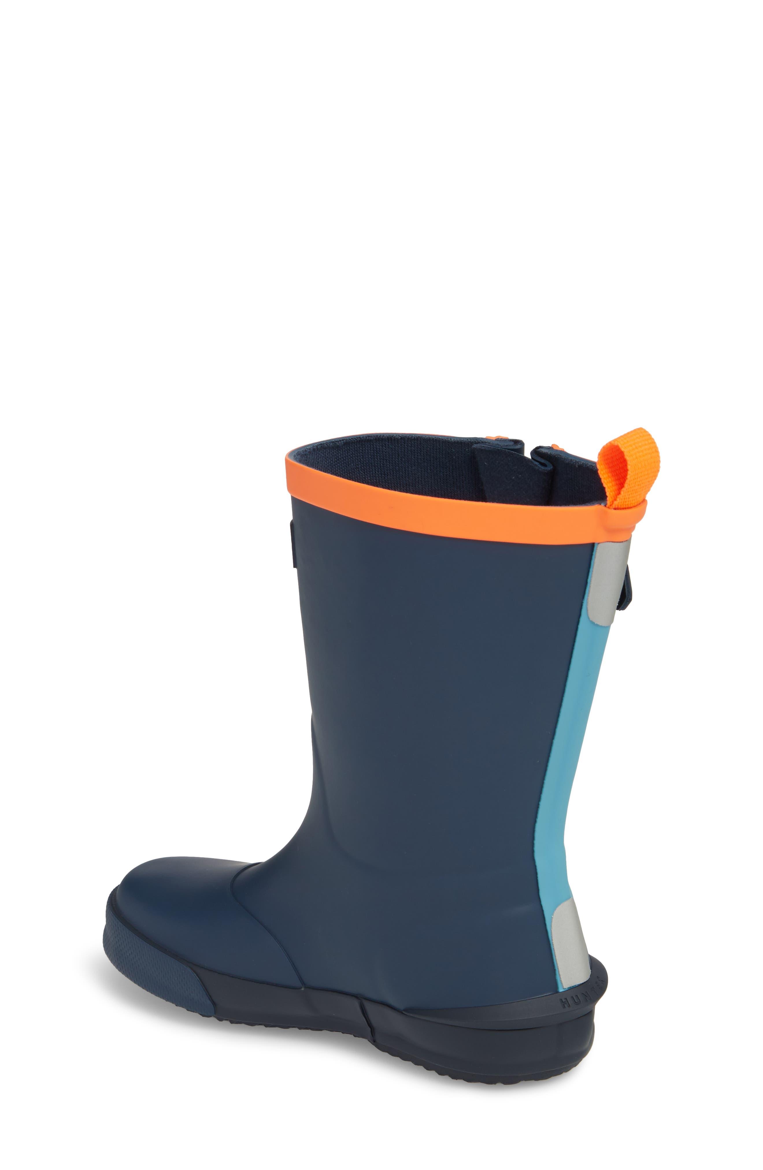 'Davison' Rain Boot,                             Alternate thumbnail 2, color,                             Dark Lake Blue/ Navy/ Hazard