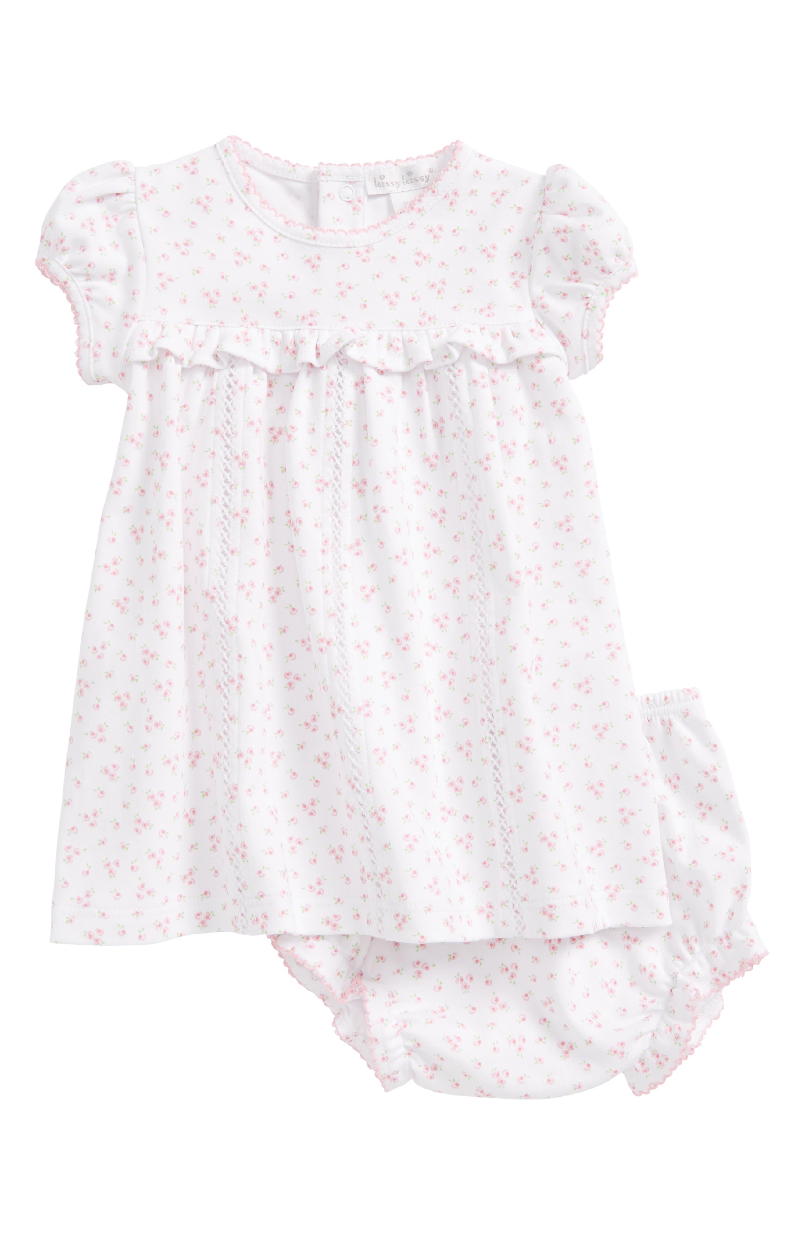 Kissy Kissy Floral Print Dress (Baby Girls)