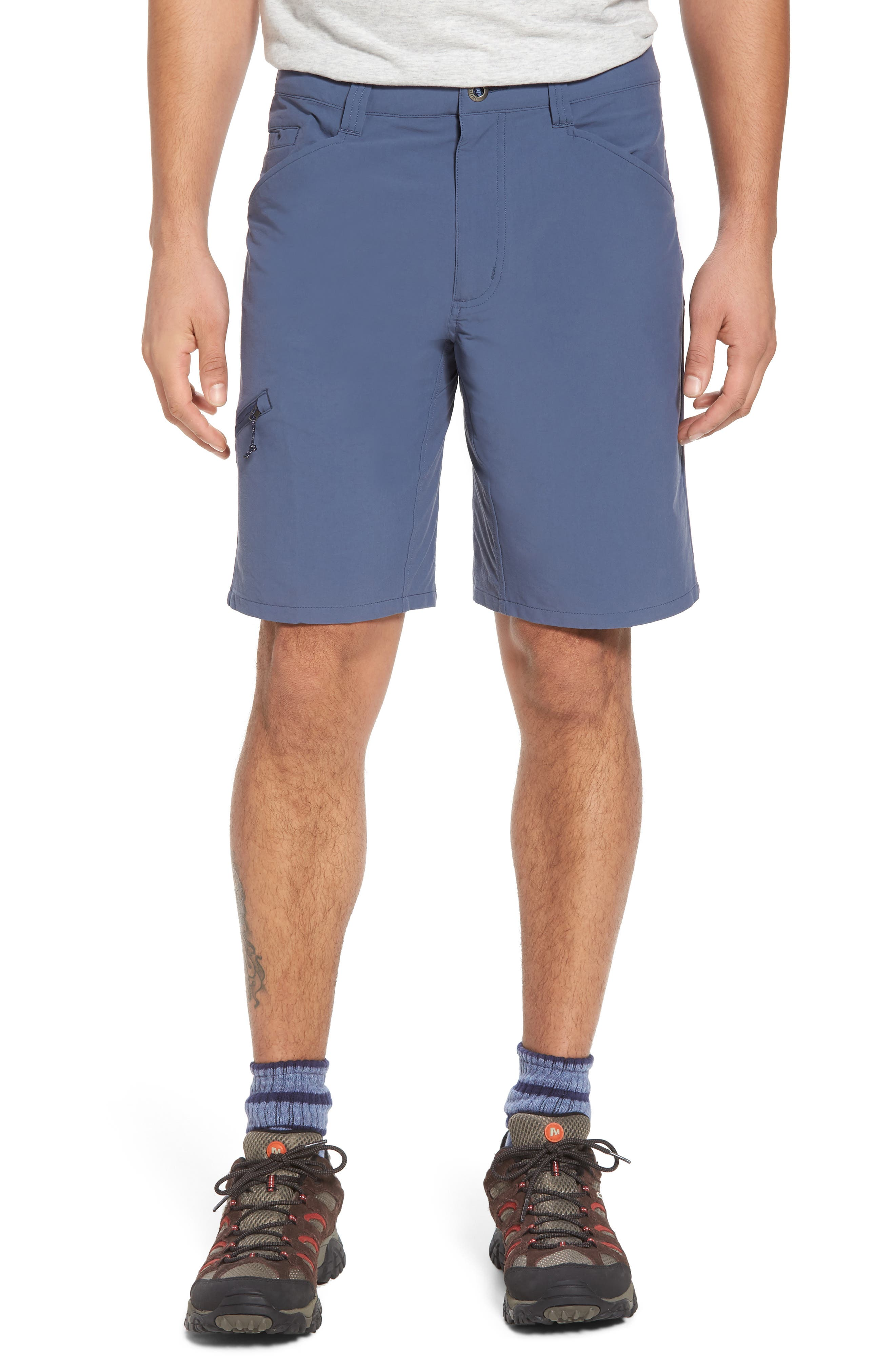 Quandary Shorts,                             Main thumbnail 1, color,                             Dolomite Blue