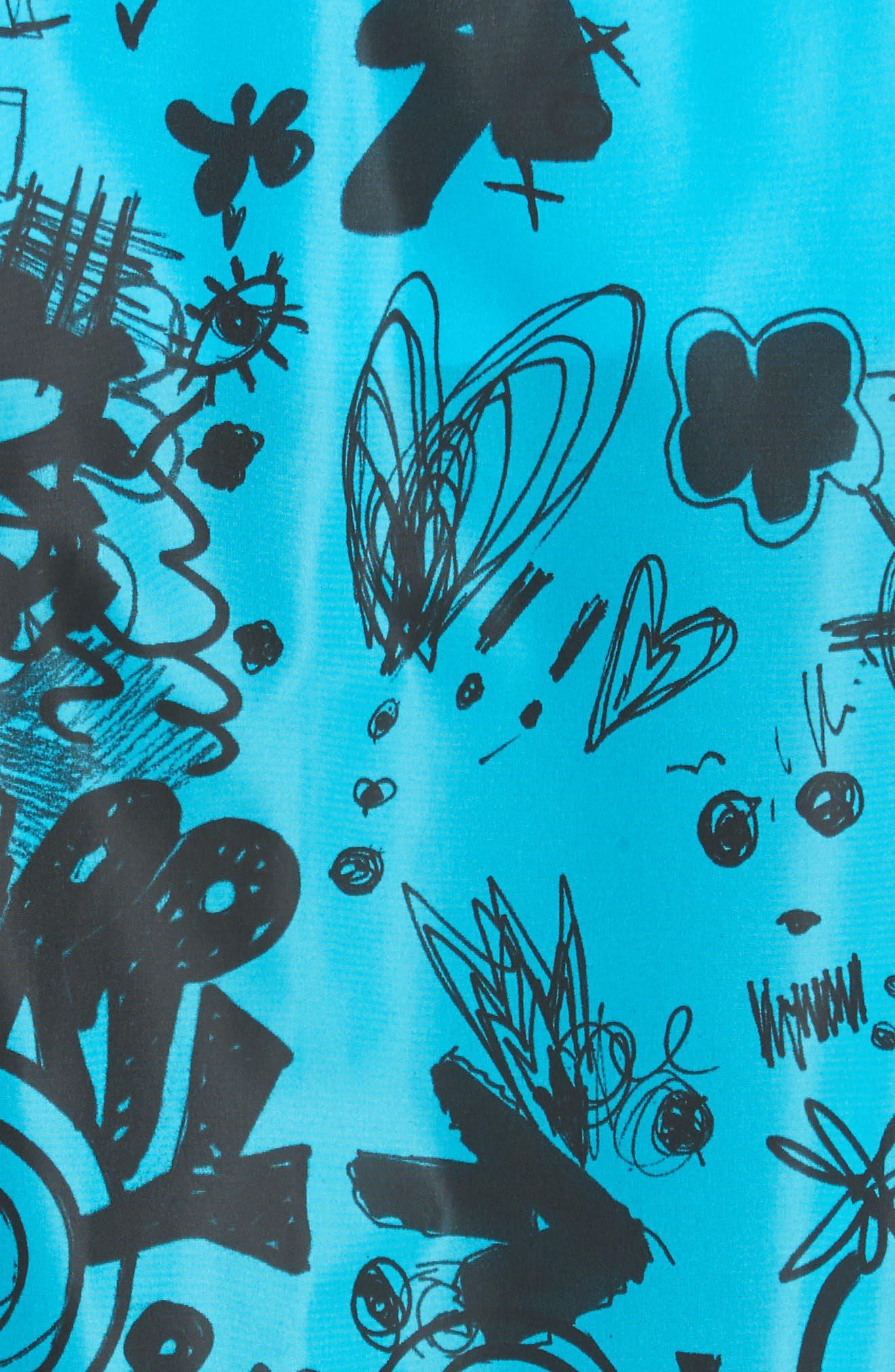 Brinkley Standard Fit Jacket,                             Alternate thumbnail 5, color,                             Bright Blue