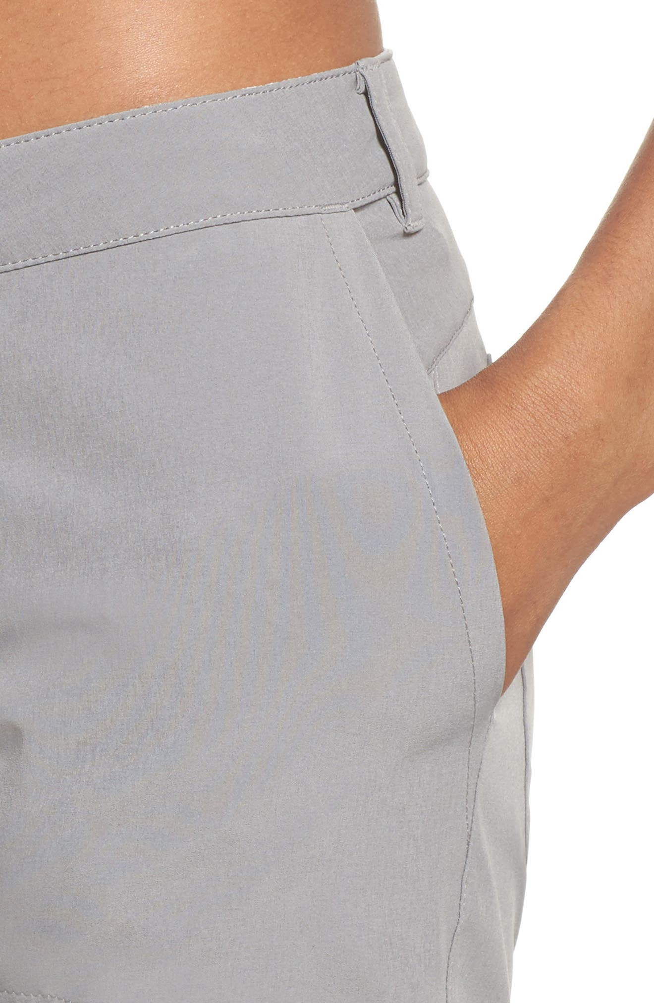 Happy Hike Shorts,                             Alternate thumbnail 4, color,                             Feather Grey