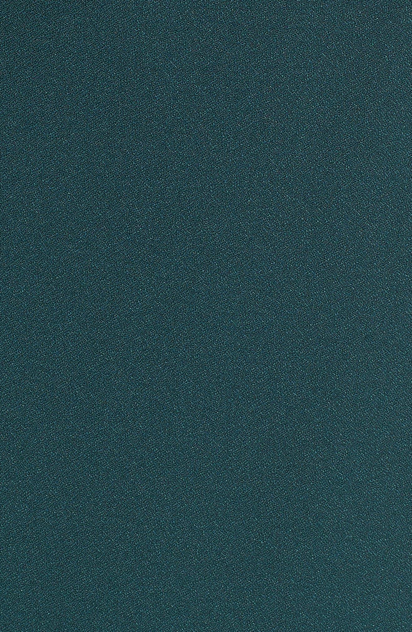 Kimono Maxi Dress,                             Alternate thumbnail 6, color,                             Green Bug