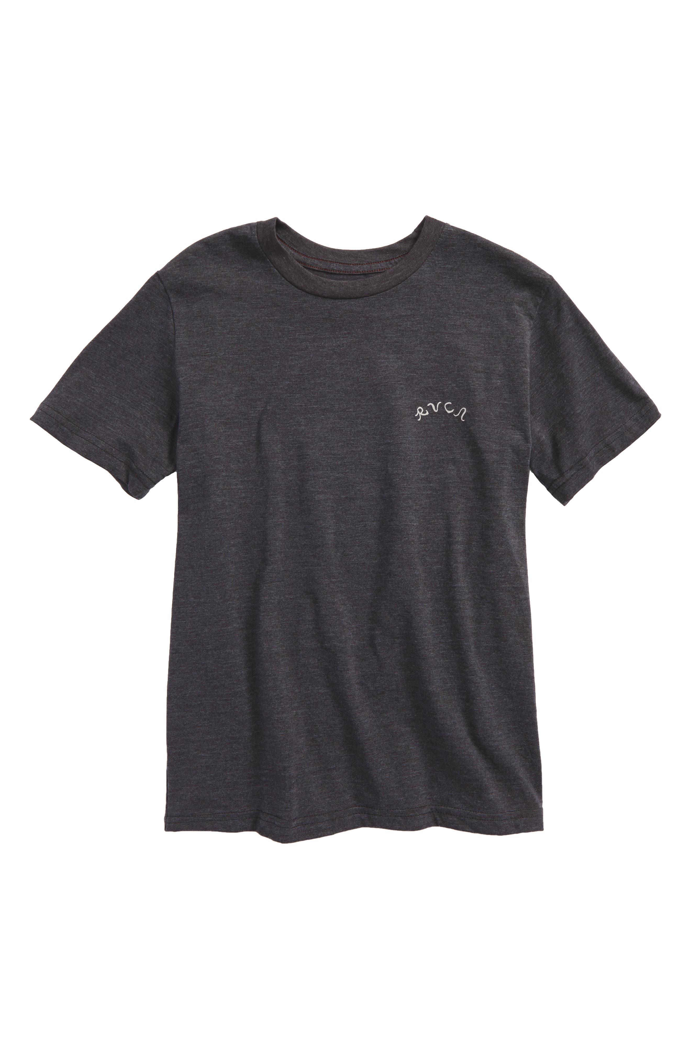 RVCA Camp Harmony T-Shirt (Big Boys)