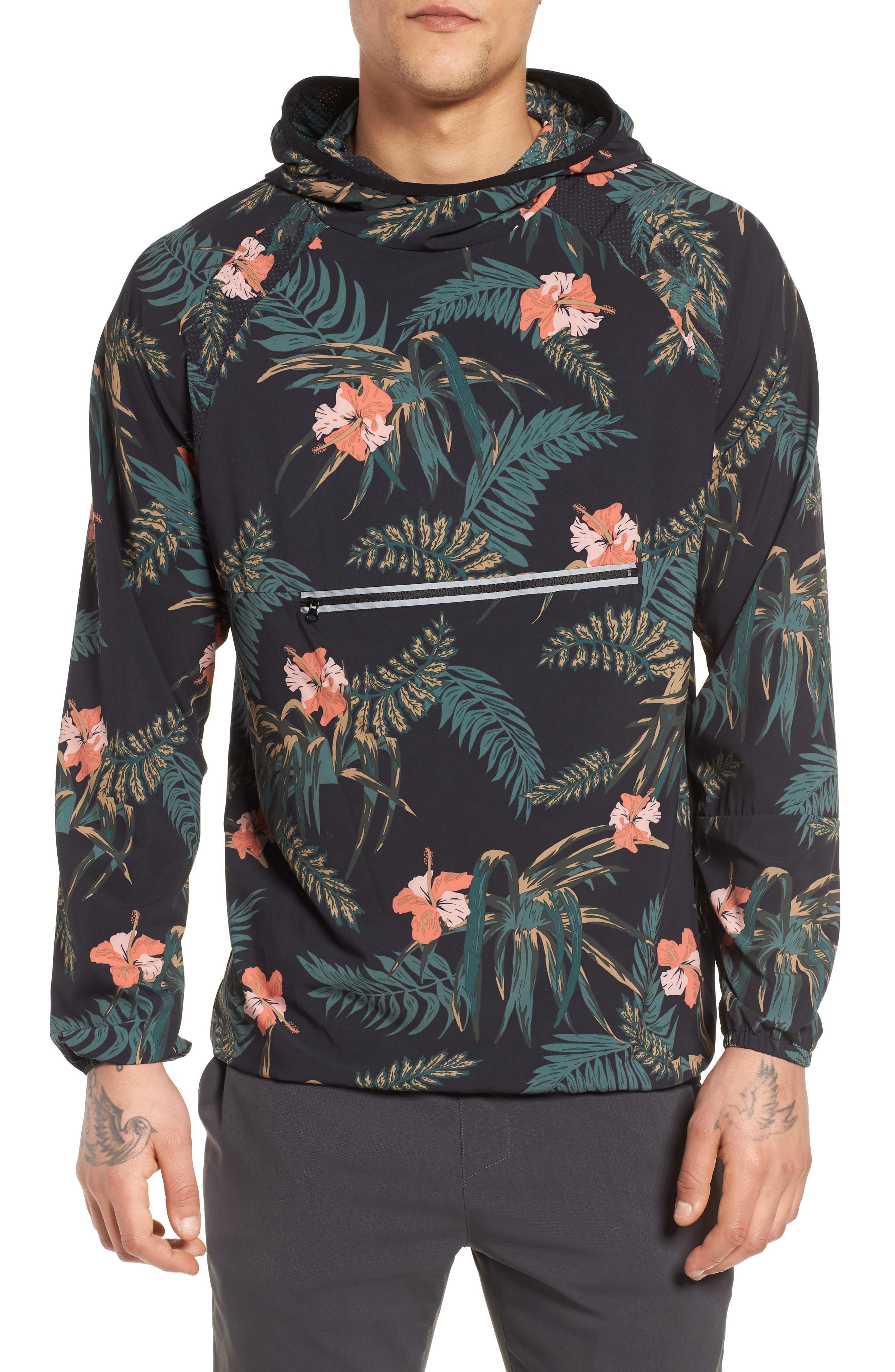 Ignite Pullover,                             Main thumbnail 1, color,                             Floral/ Multi