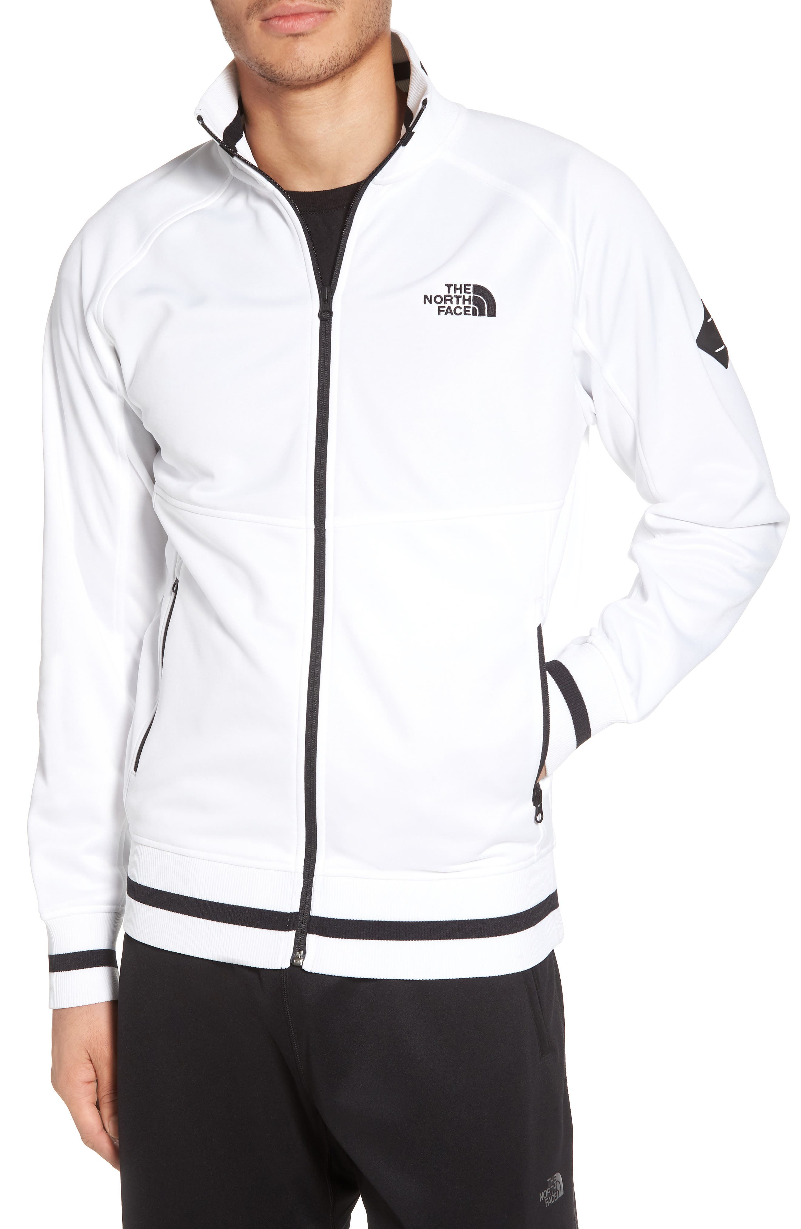 Takeback Track Jacket,                         Main,                         color, Tnf White