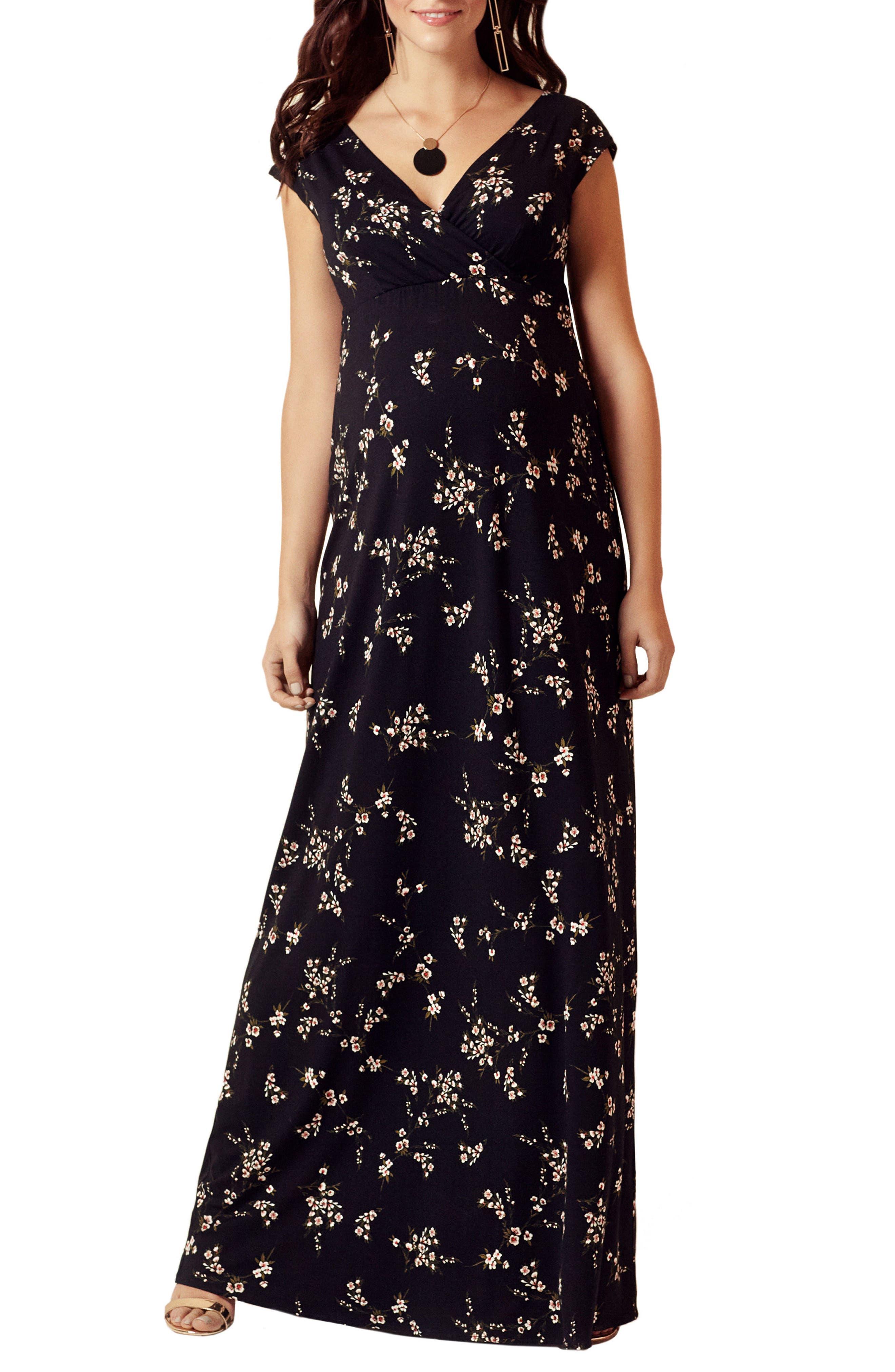 Main Image - Tiffany Rose Alana Maternity/Nursing Maxi Dress