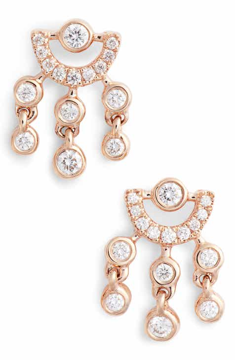 Dana Rebecca Designs Lulu Jack Diamond Drop Earrings