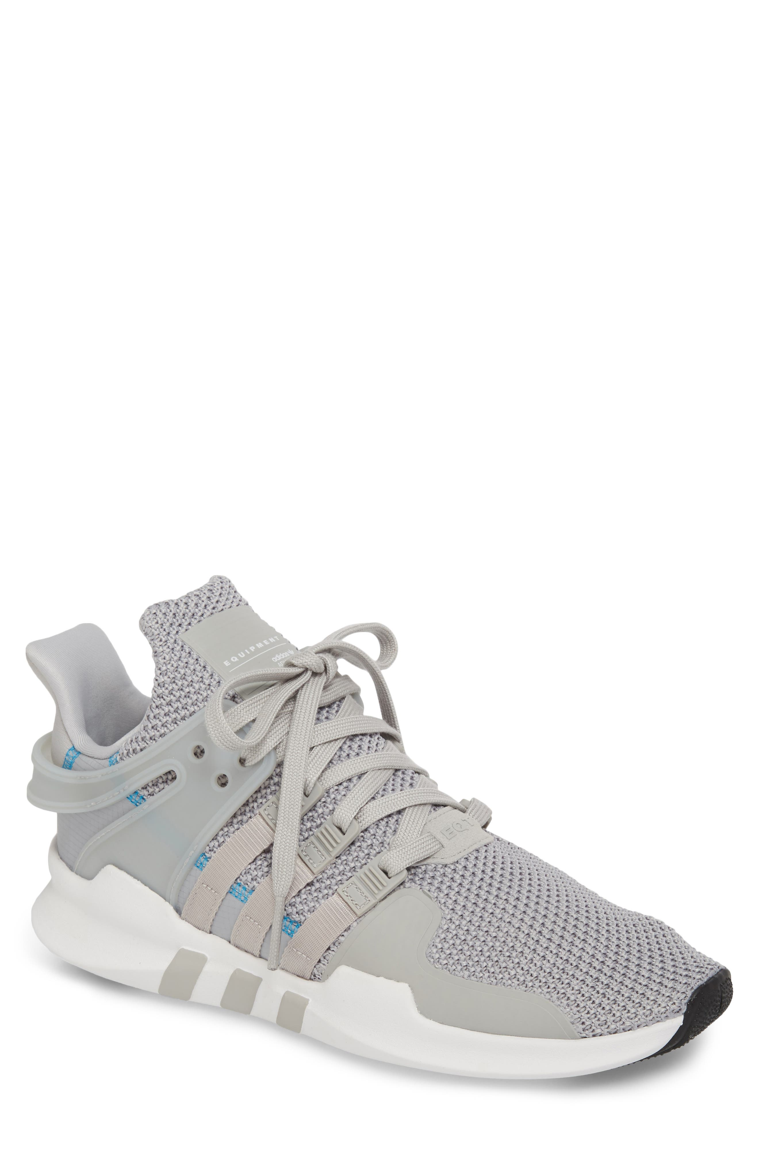 EQT Support Adv Sneaker,                             Main thumbnail 1, color,                             Grey/ White