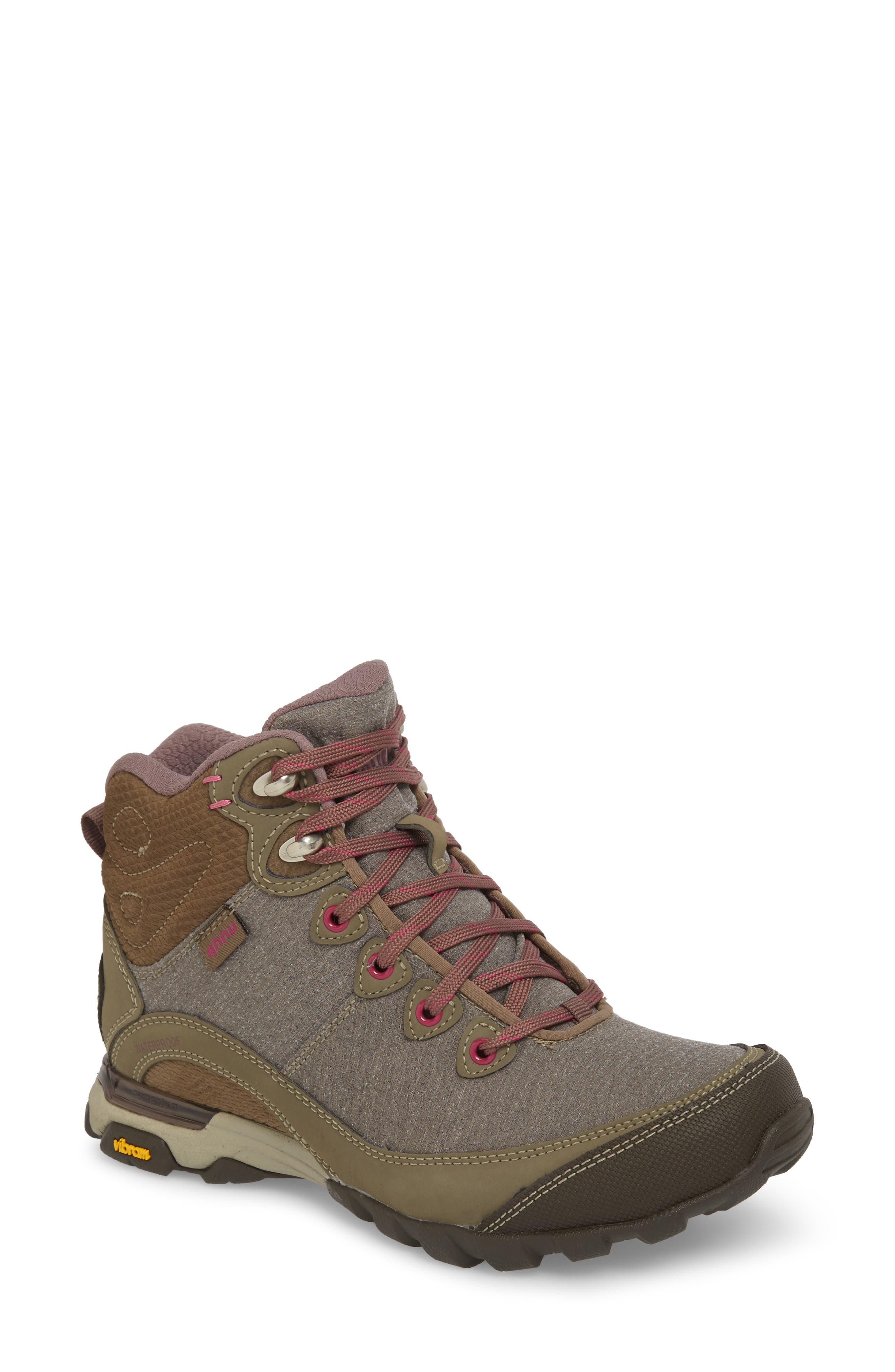 Ahnu by Teva Sugarpine II Waterproof Hiking Boot,                         Main,                         color, Walnut