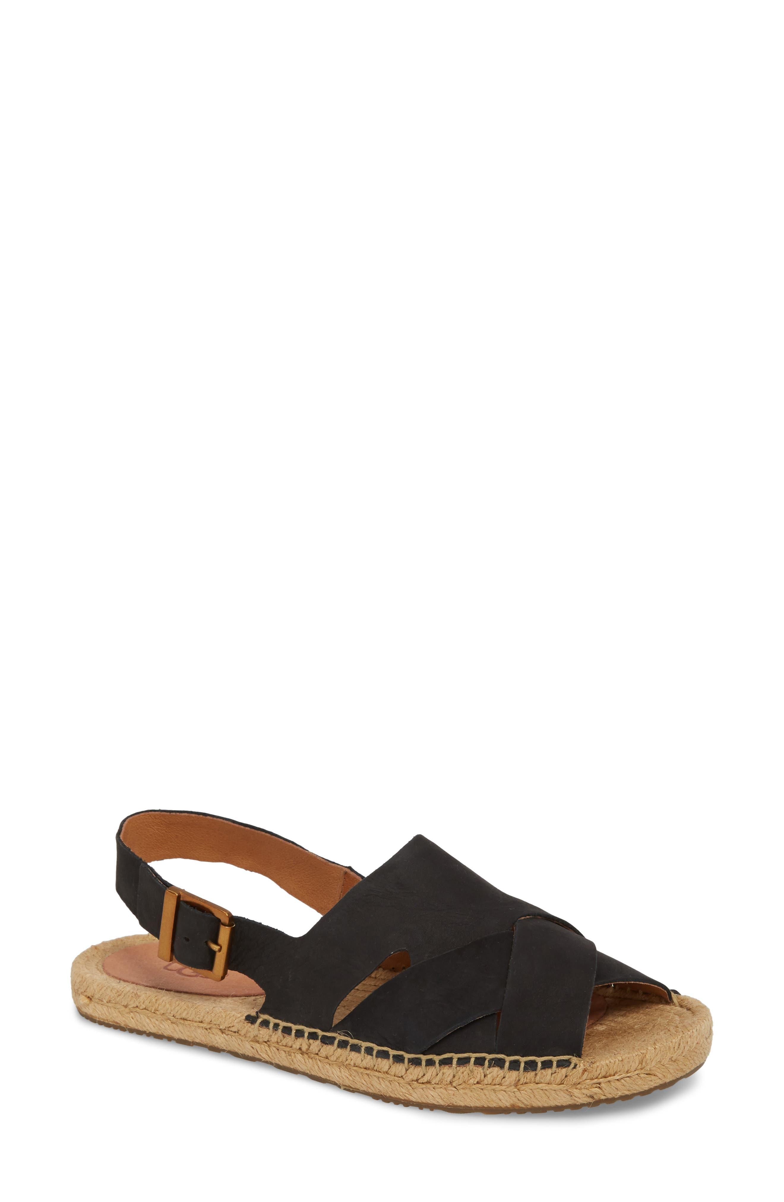 Marleah Sandal,                         Main,                         color, Black Suede