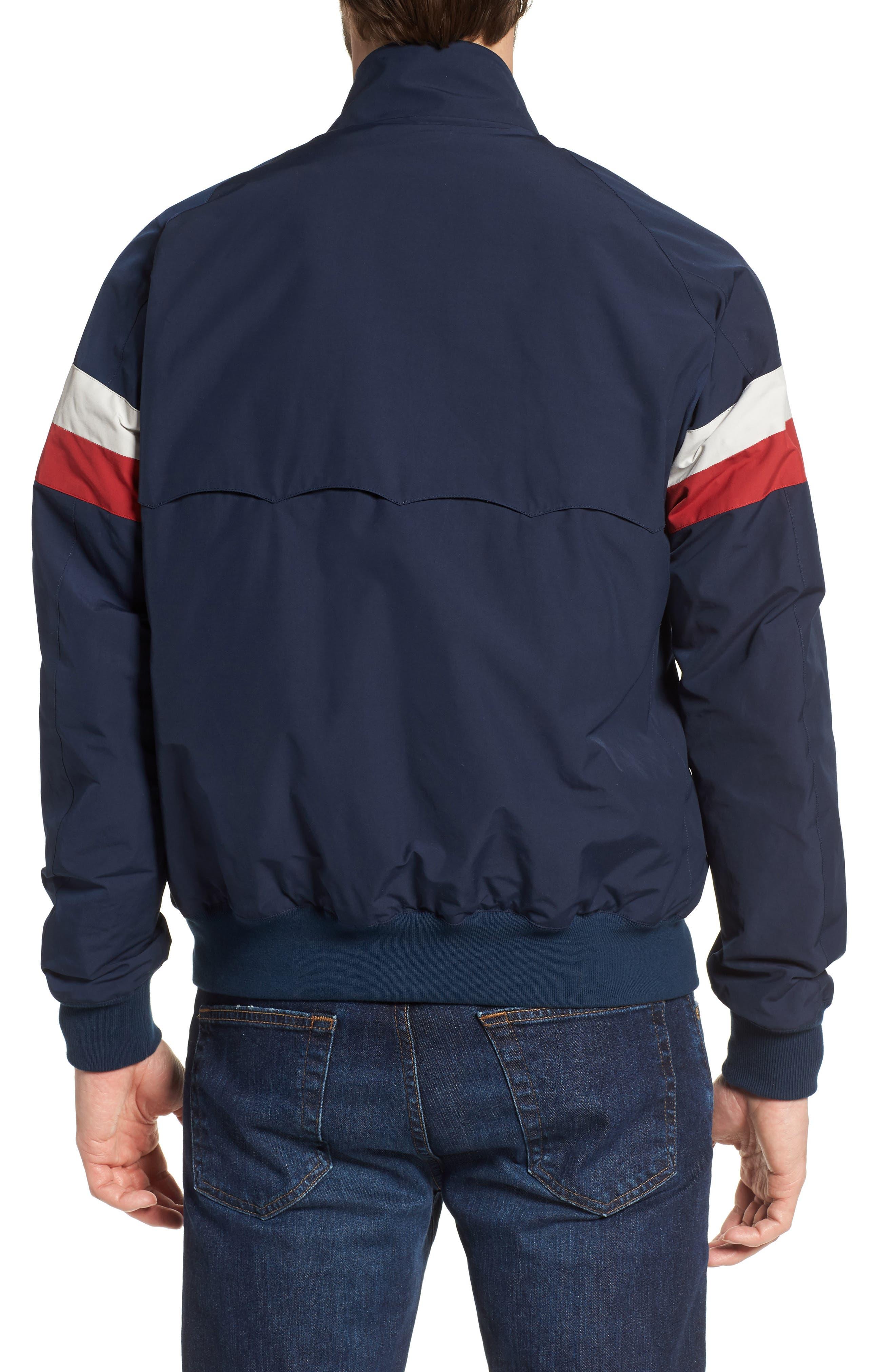 G9 Varsity Jacket,                             Alternate thumbnail 2, color,                             Navy