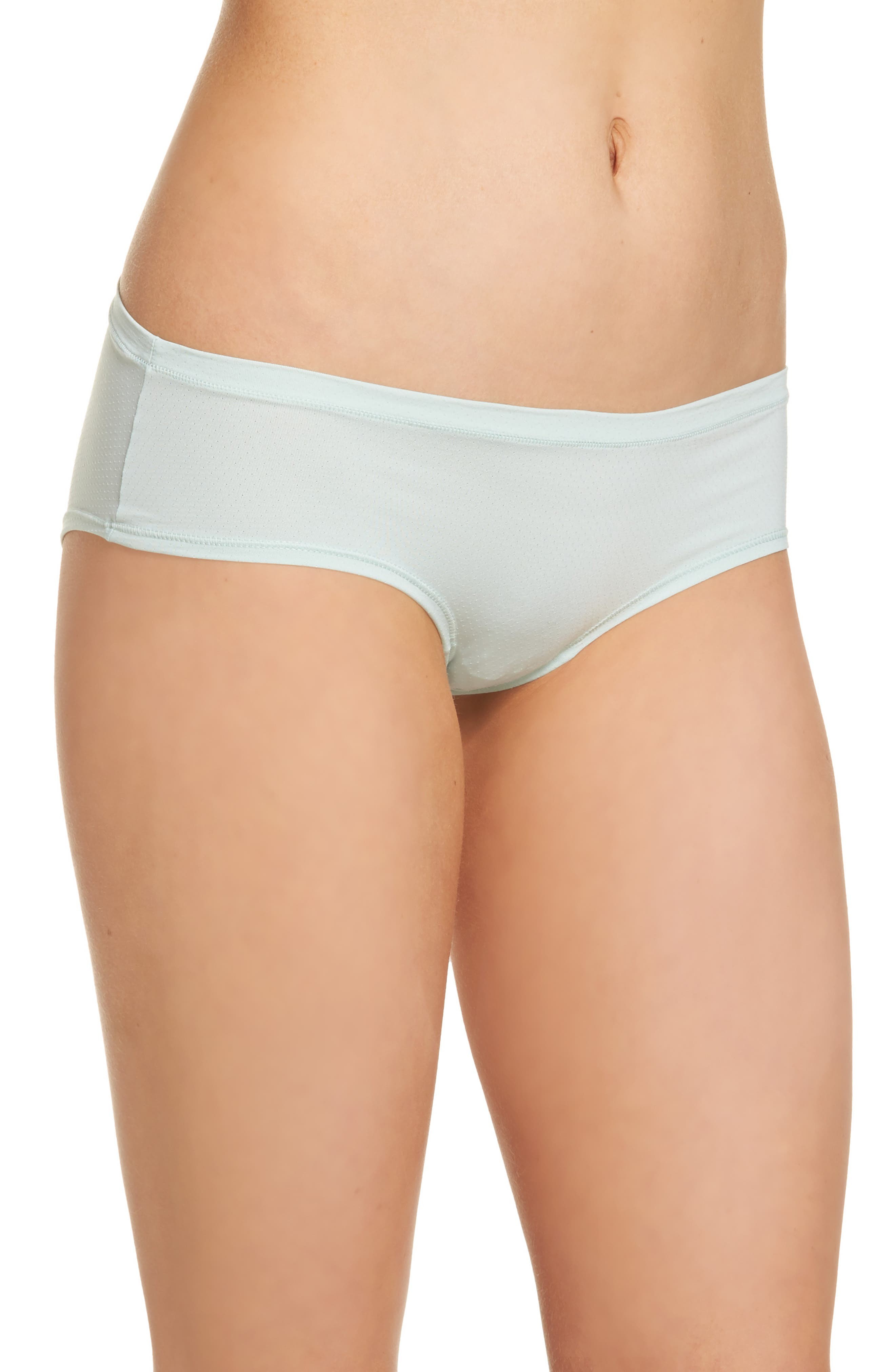 Alternate Image 3  - Zella Body Active Mesh Hipster Briefs (3 for $33)