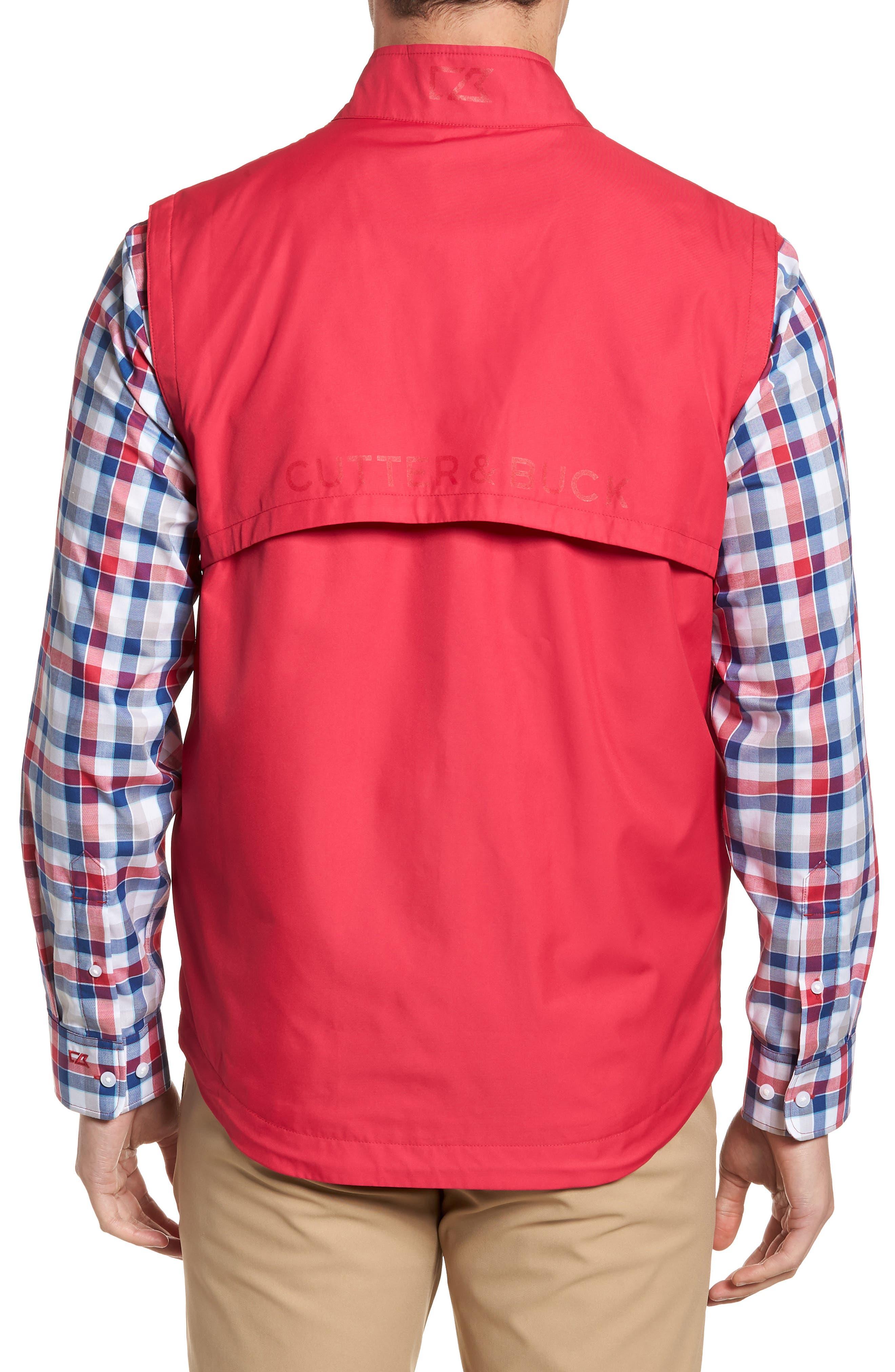 Nine Iron DryTec Zip Vest,                             Alternate thumbnail 2, color,                             Virtual