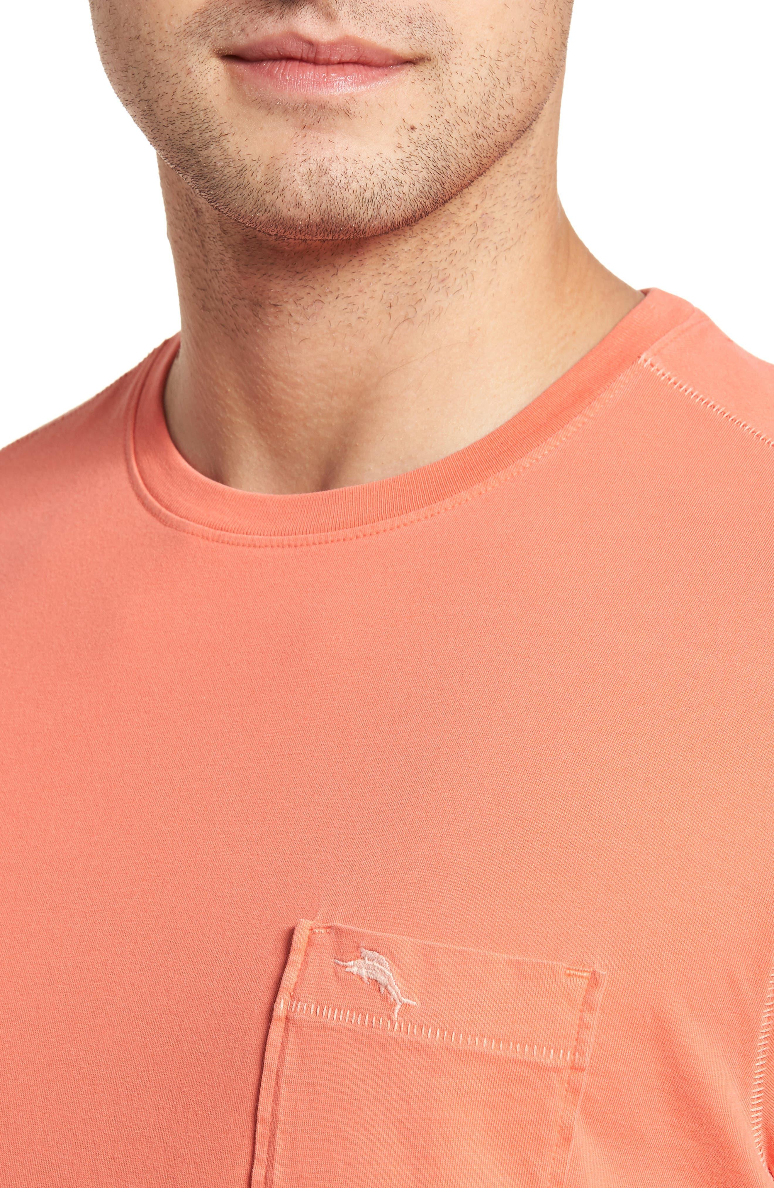 Alternate Image 4  - Tommy Bahama 'New Bahama Reef' Island Modern Fit Pima Cotton Pocket T-Shirt