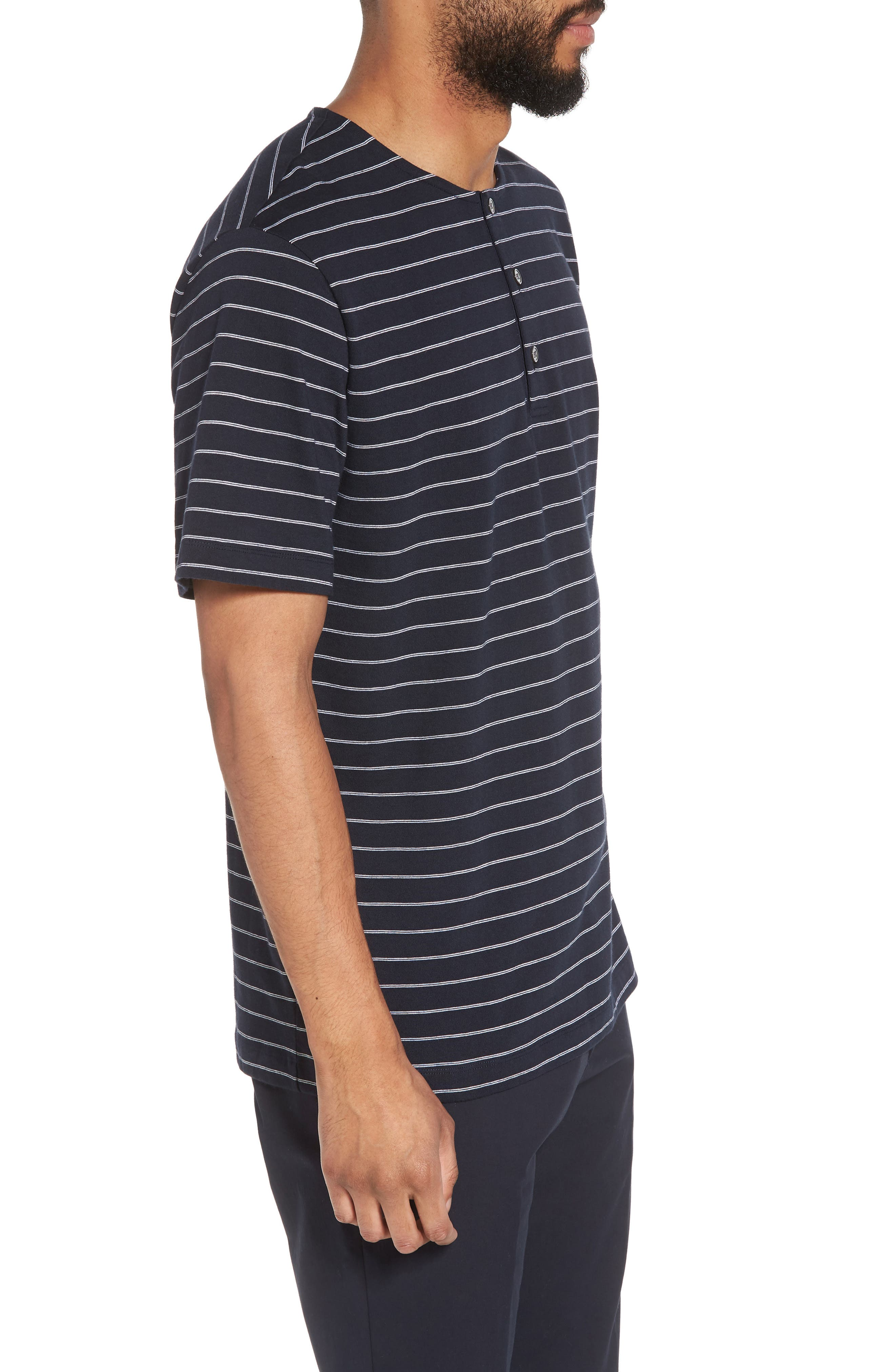 Alternate Image 3  - Theory Relaxed Stripe Henley