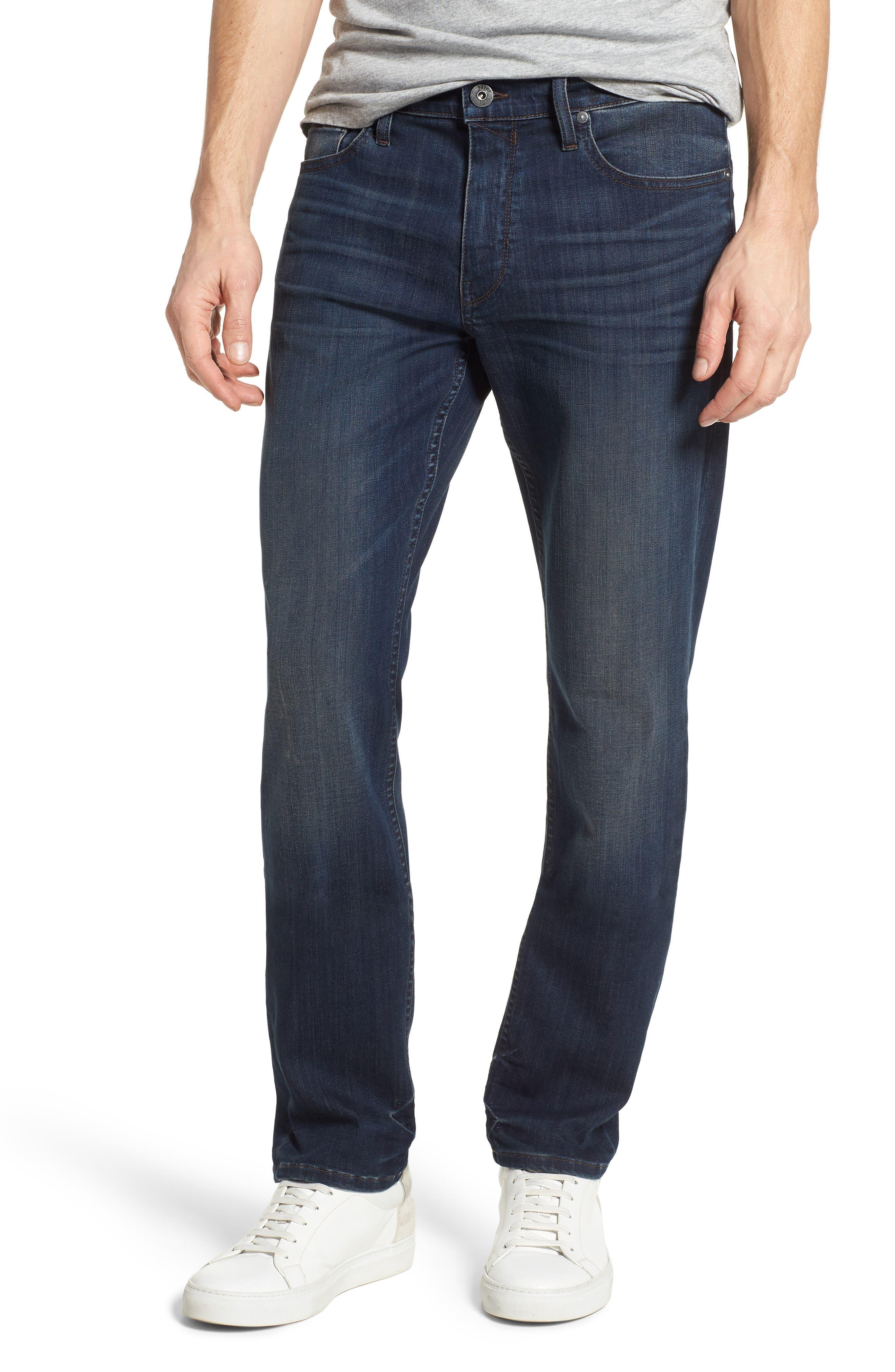 Transcend - Lennox Slim Fit Jeans,                             Main thumbnail 1, color,                             Freeman