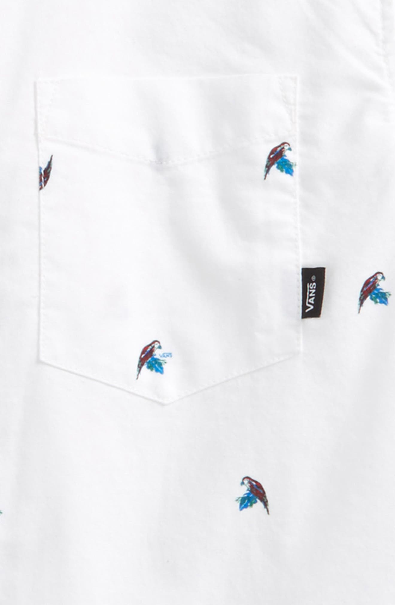 Alternate Image 2  - Vans Houser Woven Shirt (Big Boys)