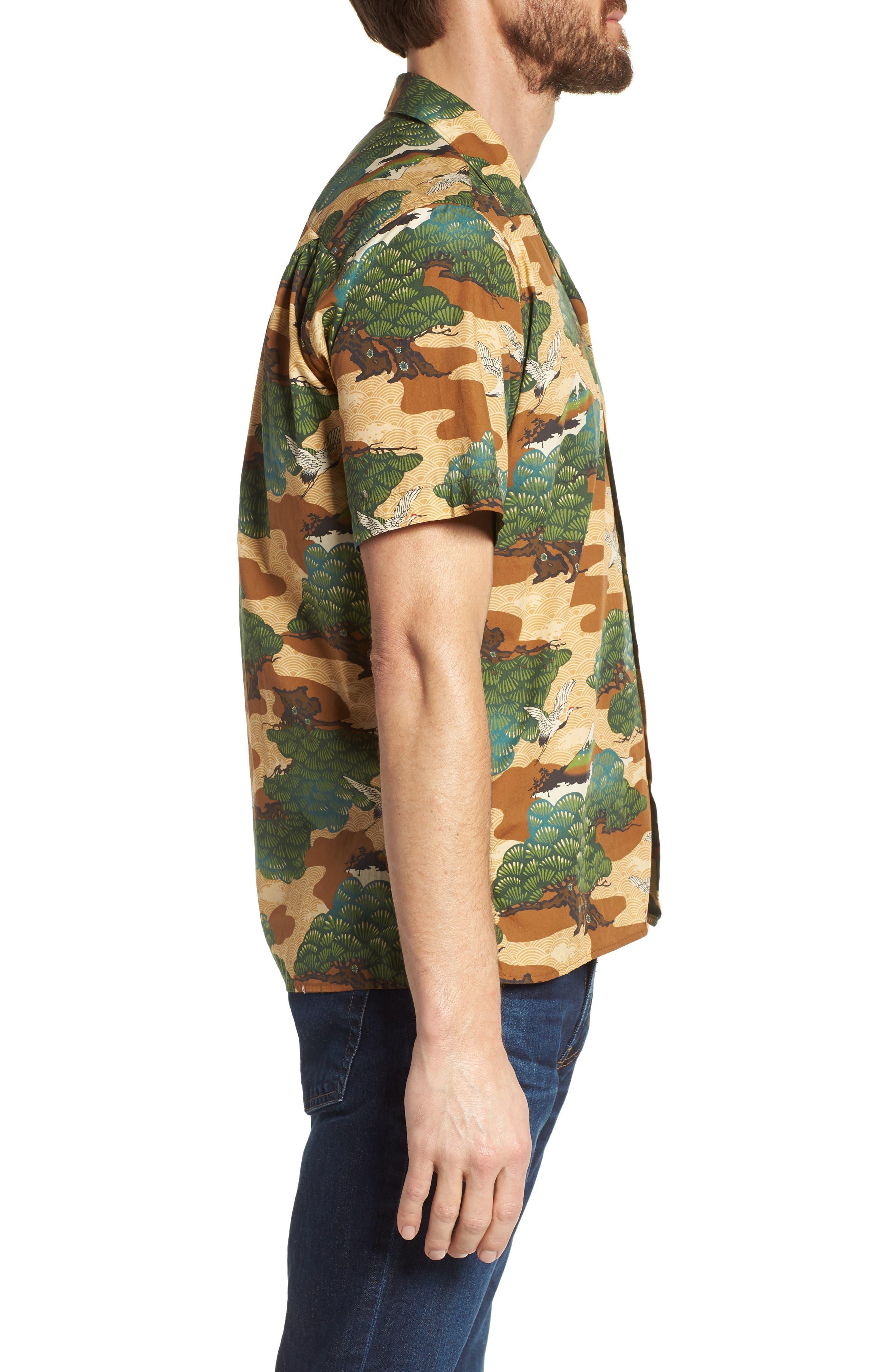 Camp Shirt,                             Alternate thumbnail 3, color,                             Multi