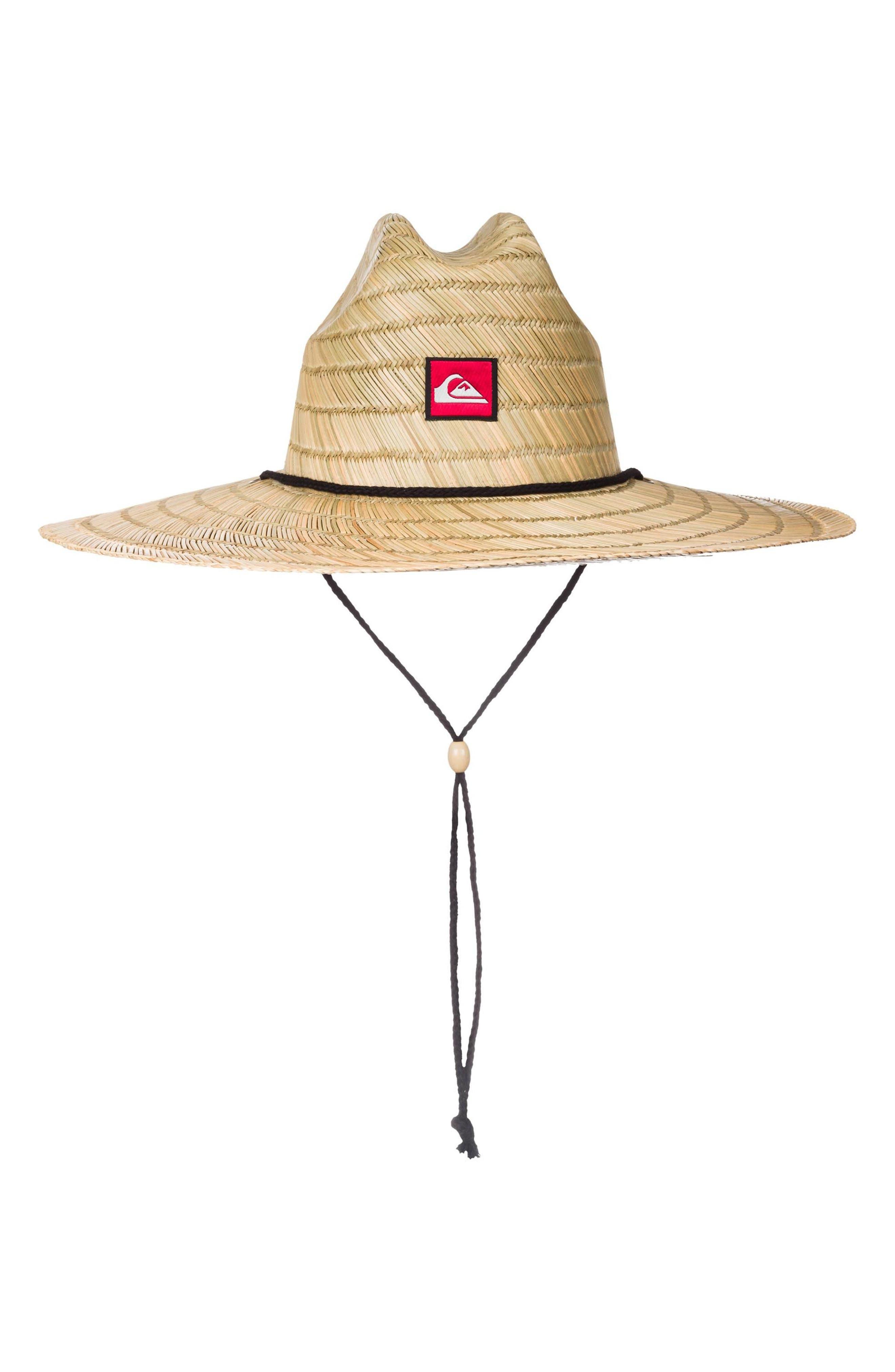 Quiksilver Pierside Straw Outback Hat