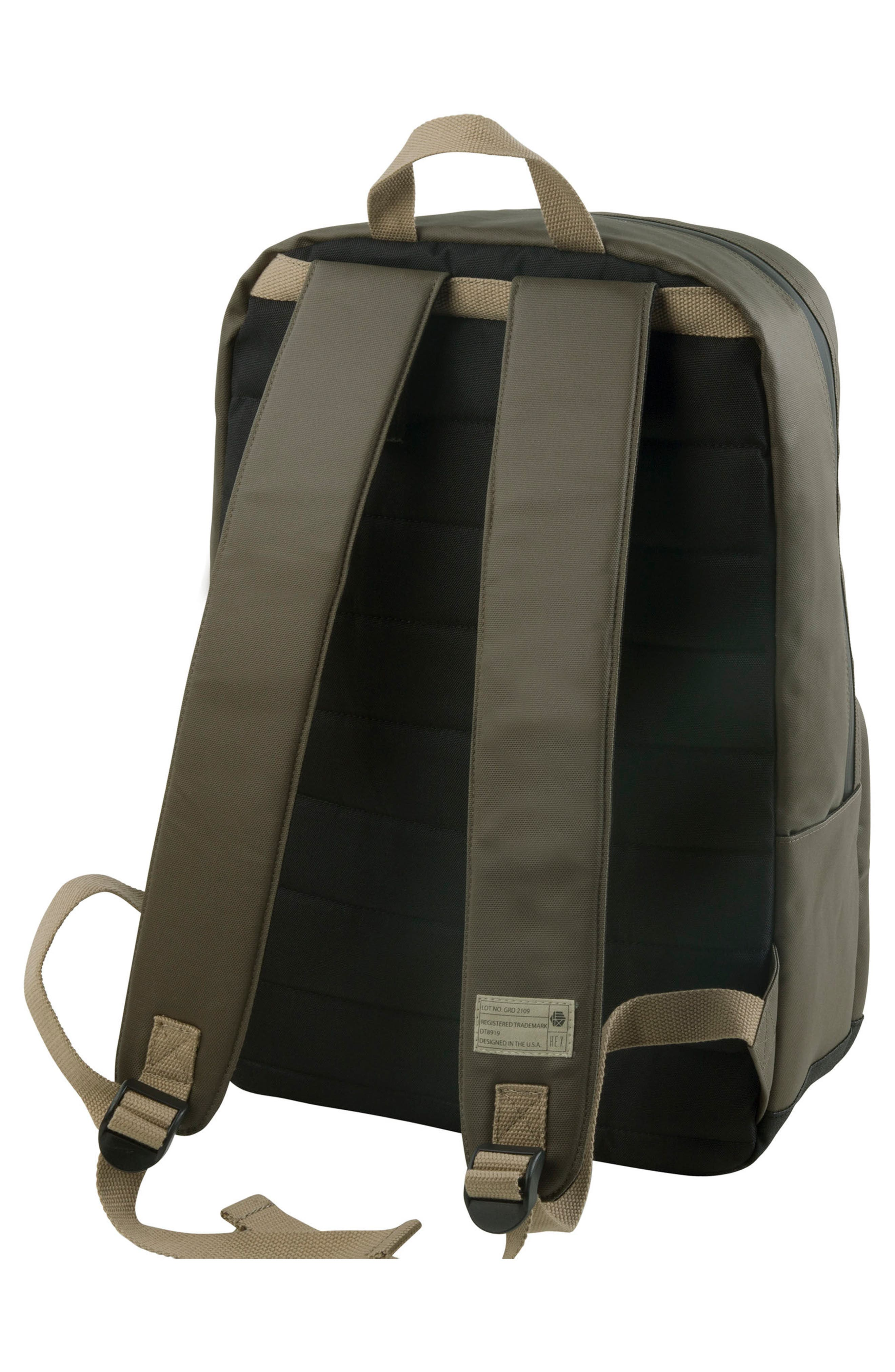 Watney Signal Backpack,                             Alternate thumbnail 3, color,                             Olive